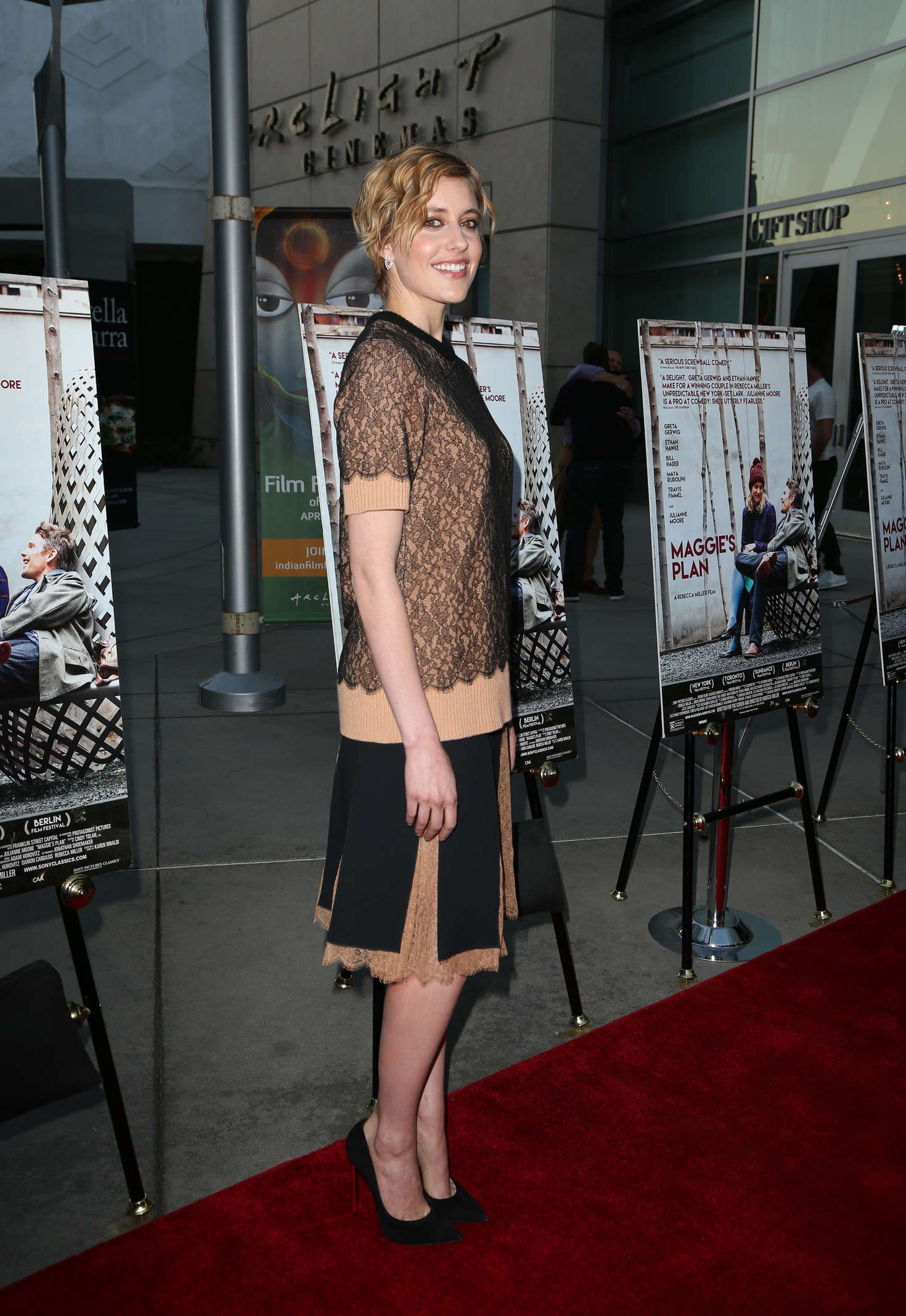 Greta Gerwig Maggies Plan Special Presentation in Los Angeles