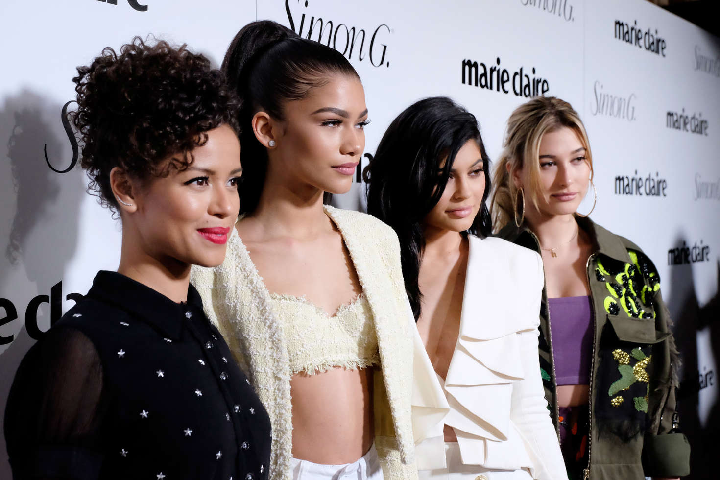 Gugu Mbatha-Raw Marie Claire Hosts Fresh Faces Party Celebrating May Issue Cover Stars in Los Angeles