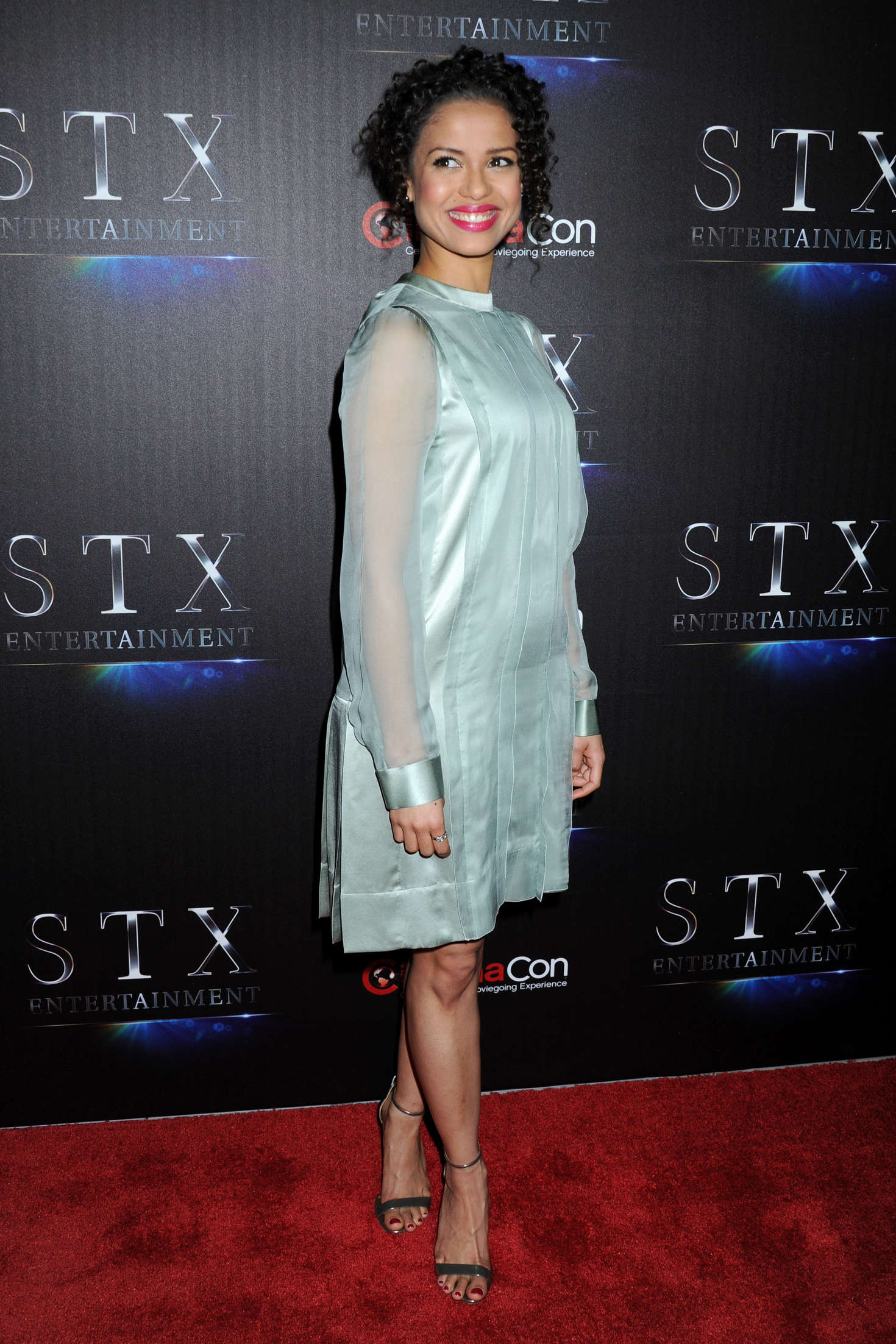 Gugu Mbatha-Raw The State of the Industry Past Present and Future at CinemaCon in Las Vegas
