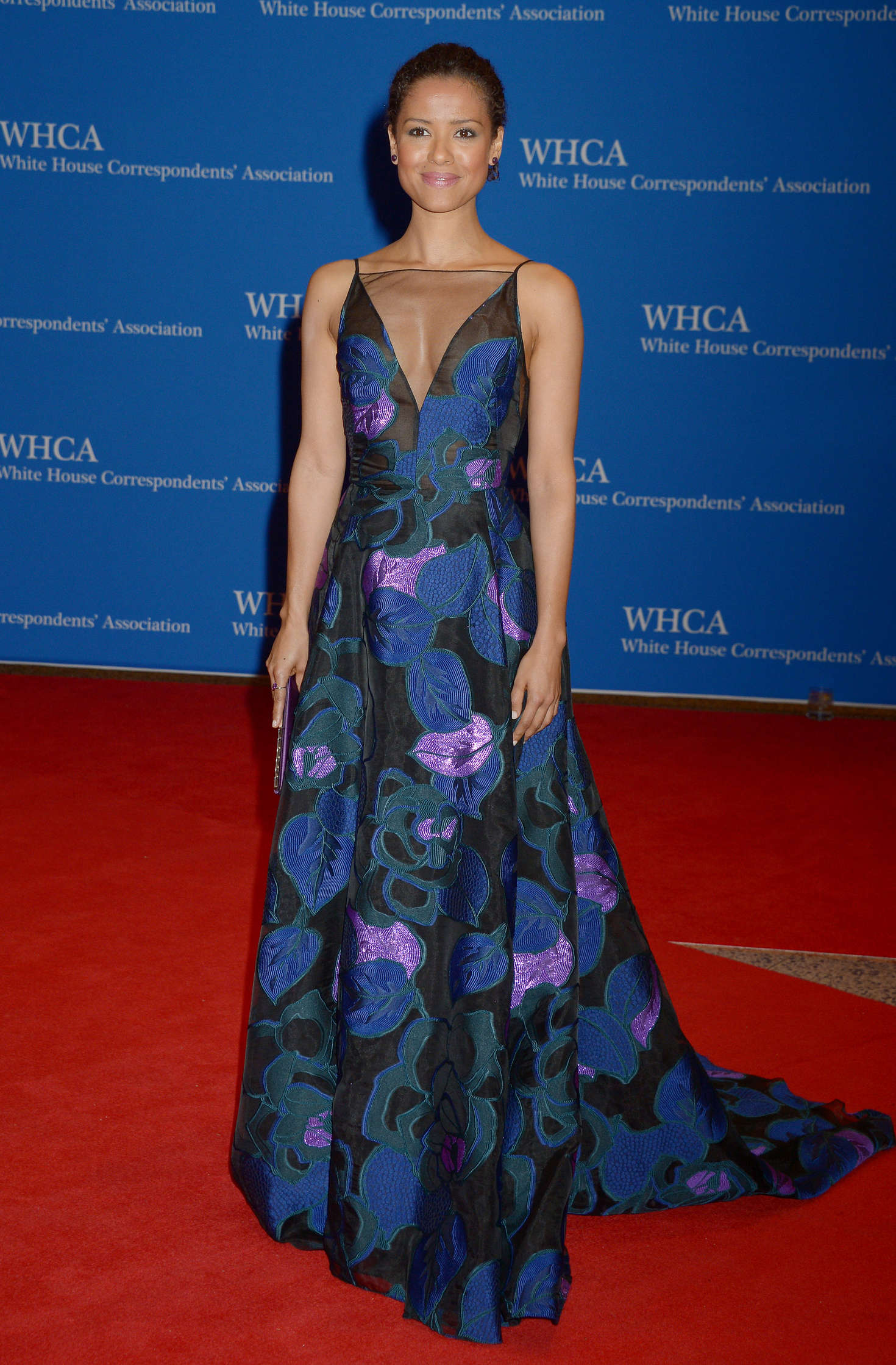 Gugu Mbatha-Raw White House Correspondents Dinner in Washington