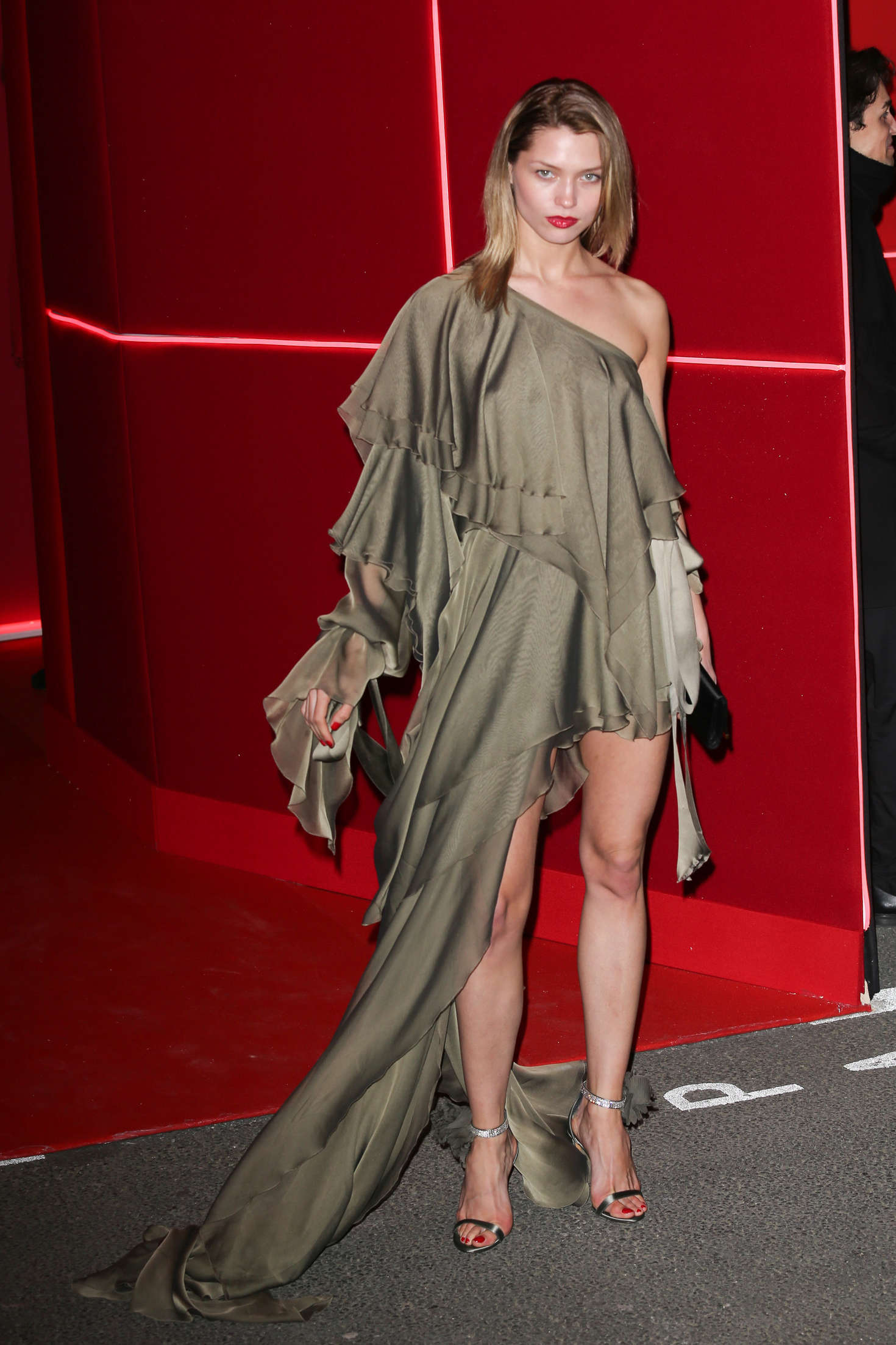 Hana Jirickova Attends at LOreal Red Obsession Party in Paris