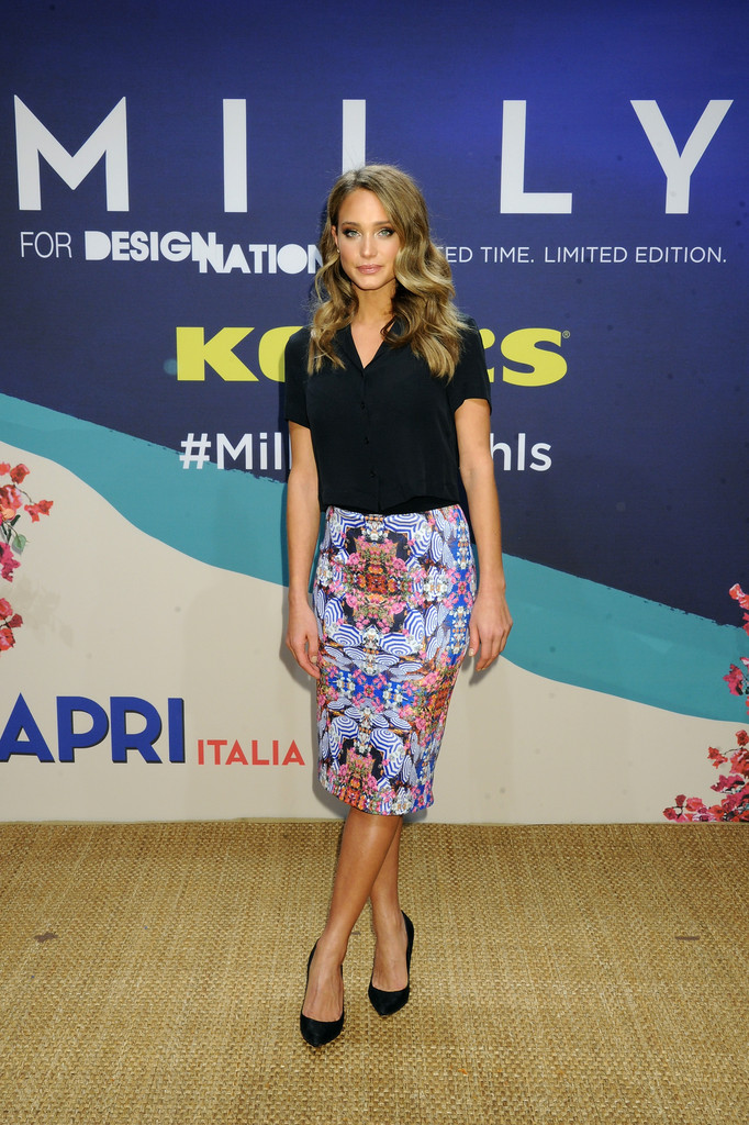 Hannah Davis Kohls MILLY For DesigNation Cocktail Party in New York