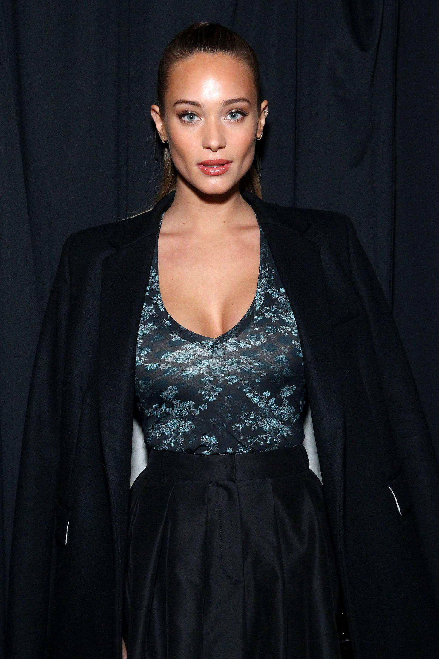 Hannah Davis Vera Wang Fashion Show in New York