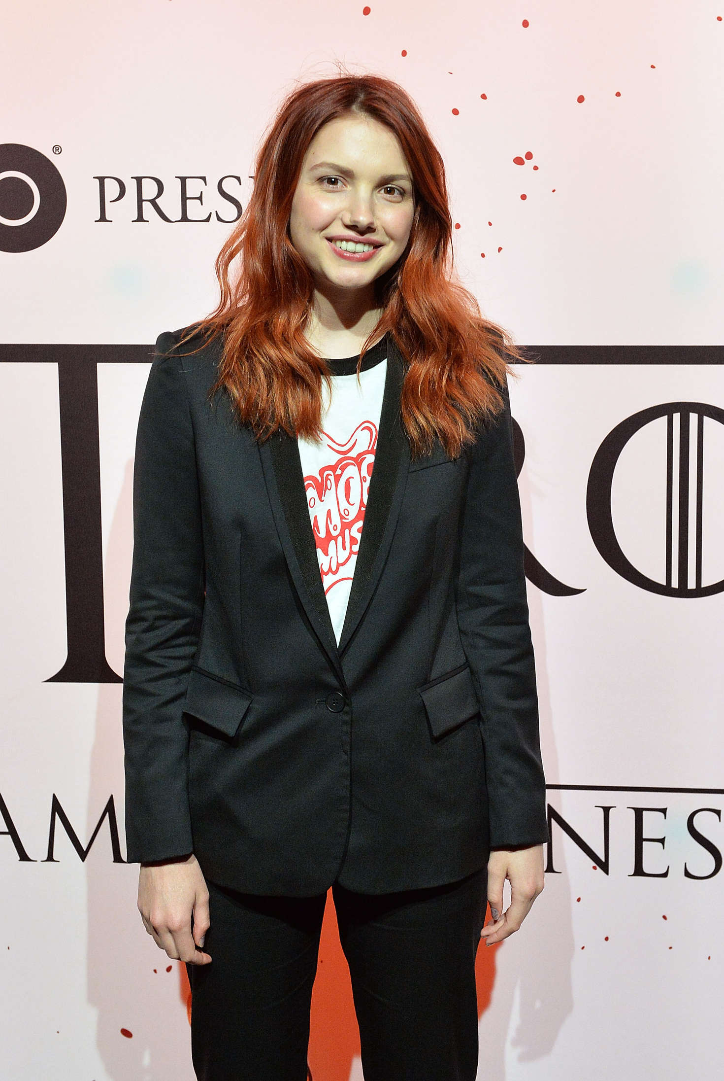 Hannah Murray HBOs Art the Throne Immersive Art Experience in New York City