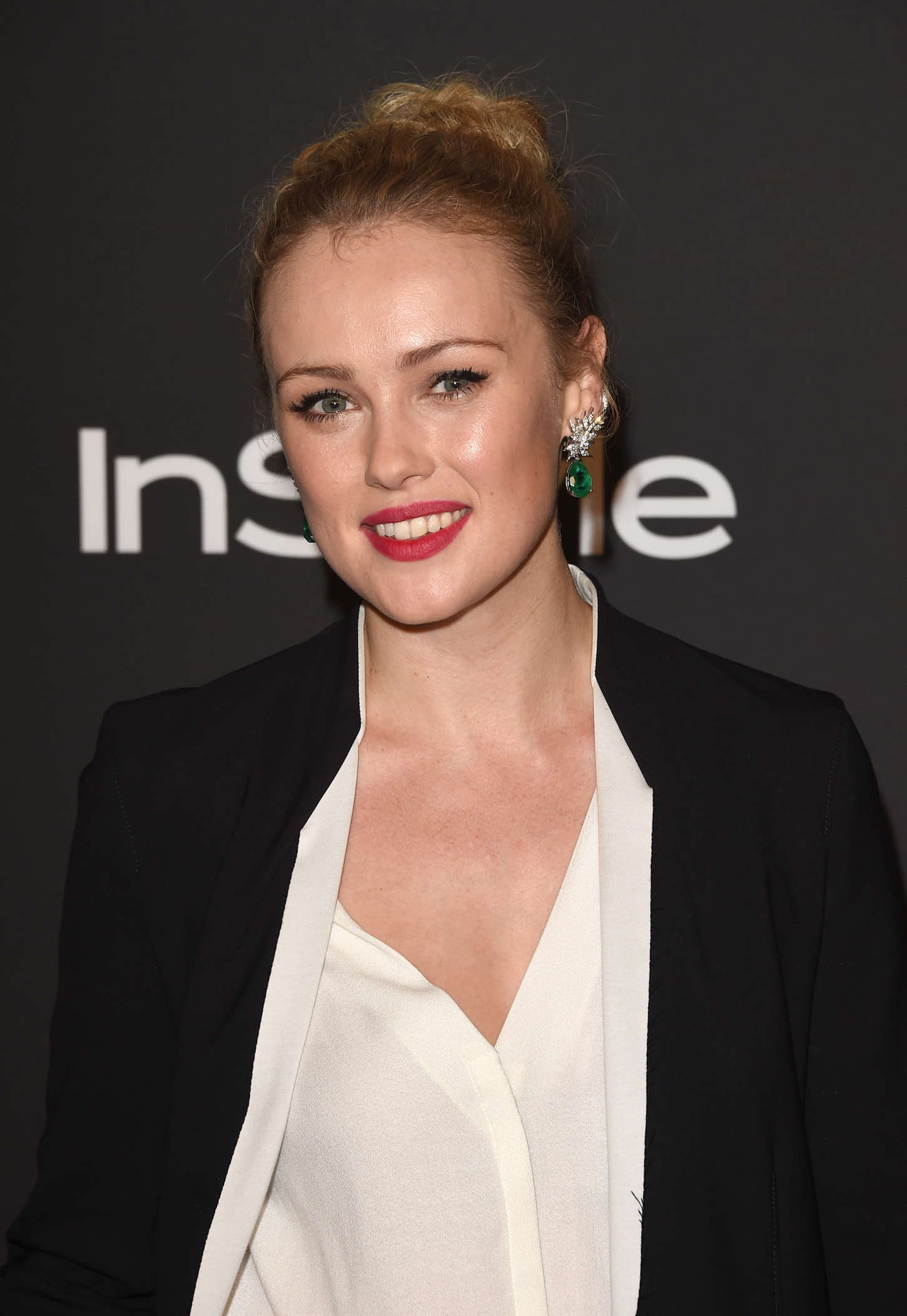 Hannah New InStyle And Warner Bros Golden Globes Party in Beverly Hills