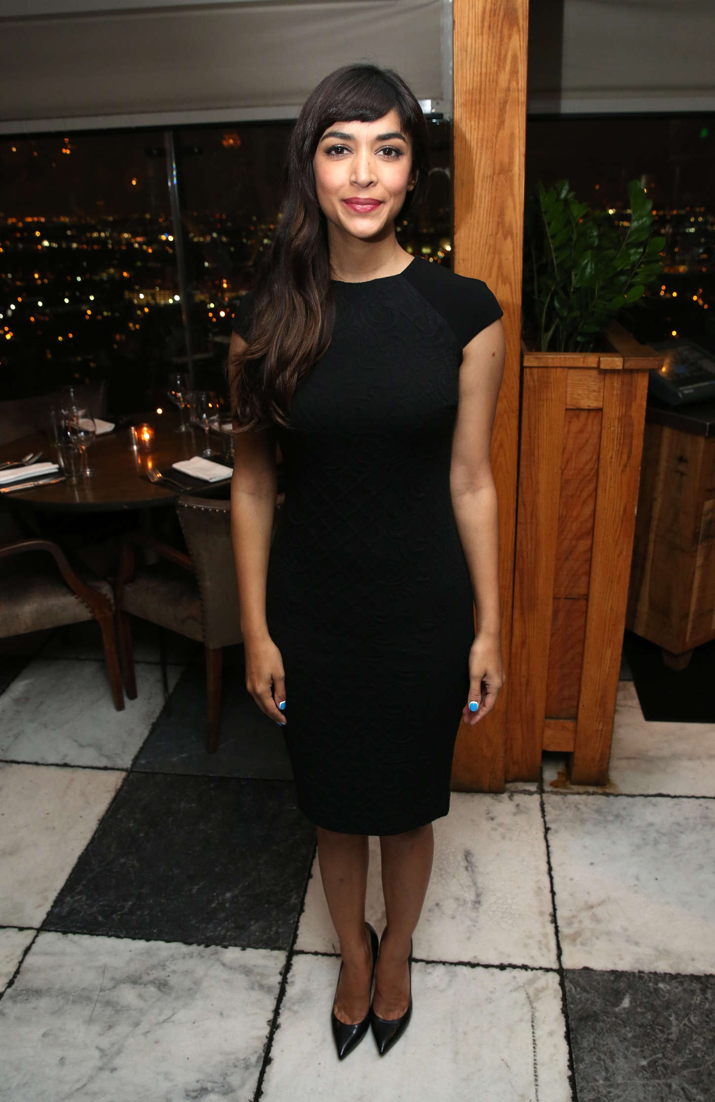 Hannah Simone DETAILS Hollywood Mavericks Dinner in West Hollywood
