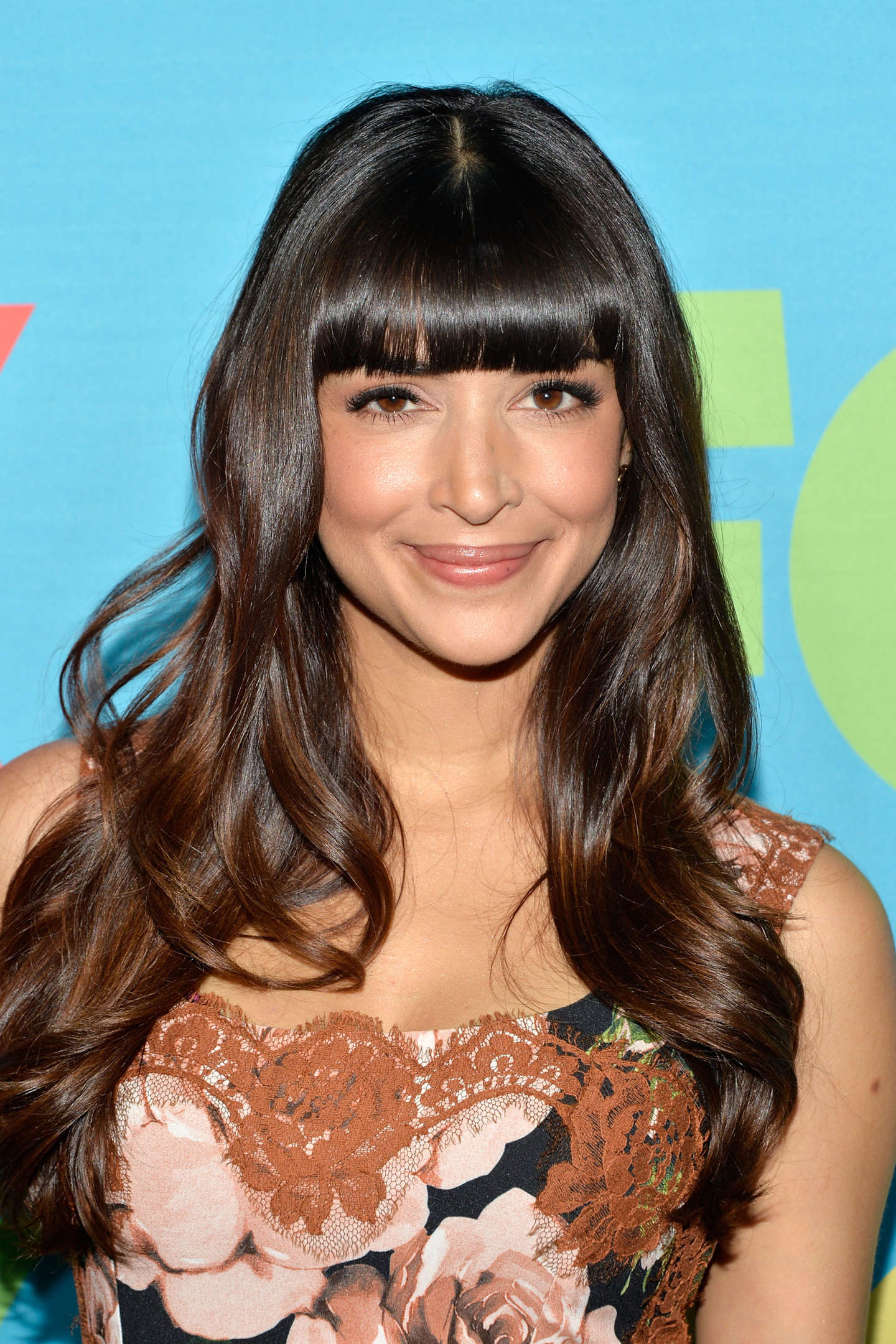 Hannah Simone FOX Network Upfront event