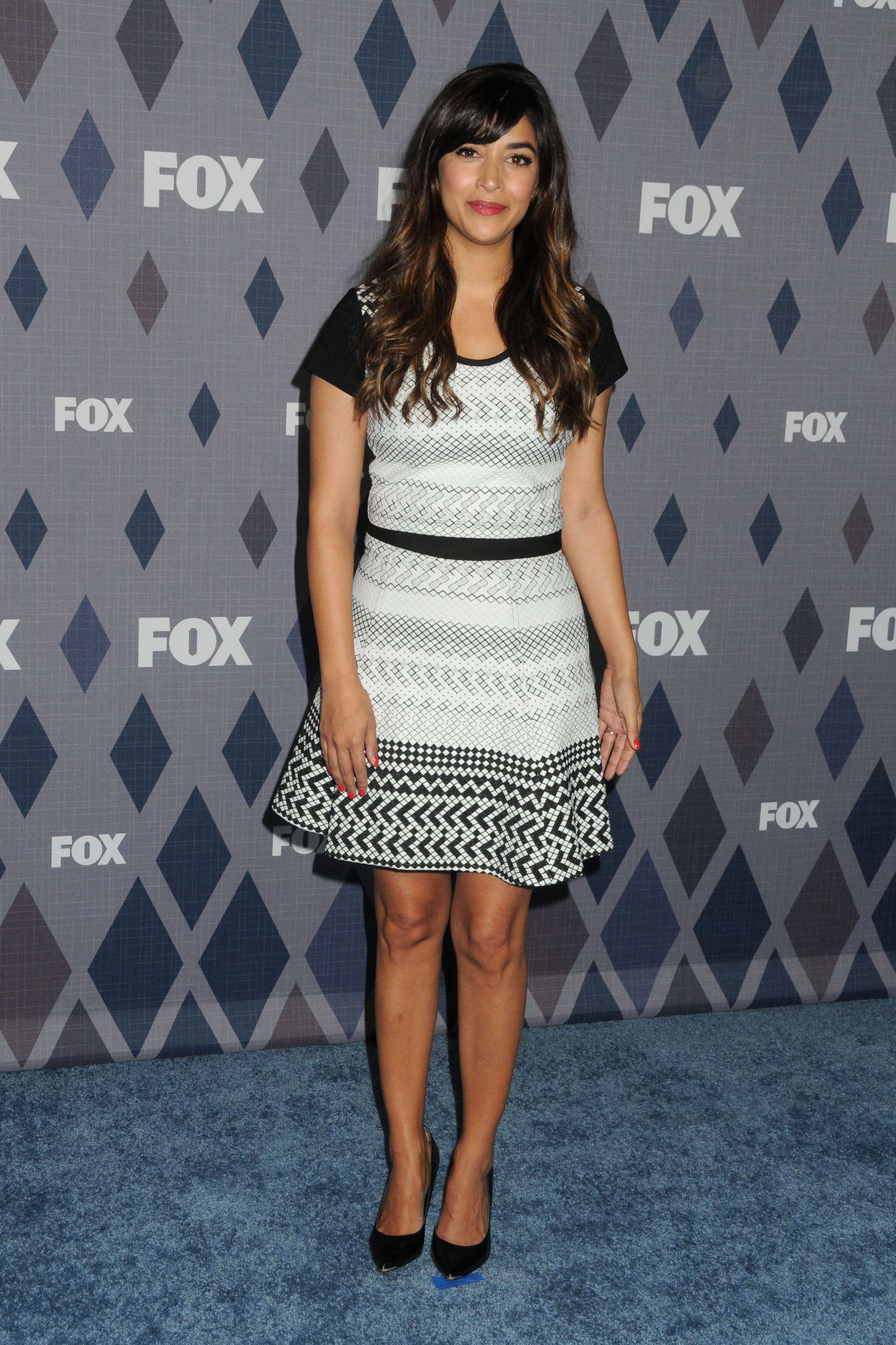 Hannah Simone FOX TCA Winter All-Star Party in Pasadena