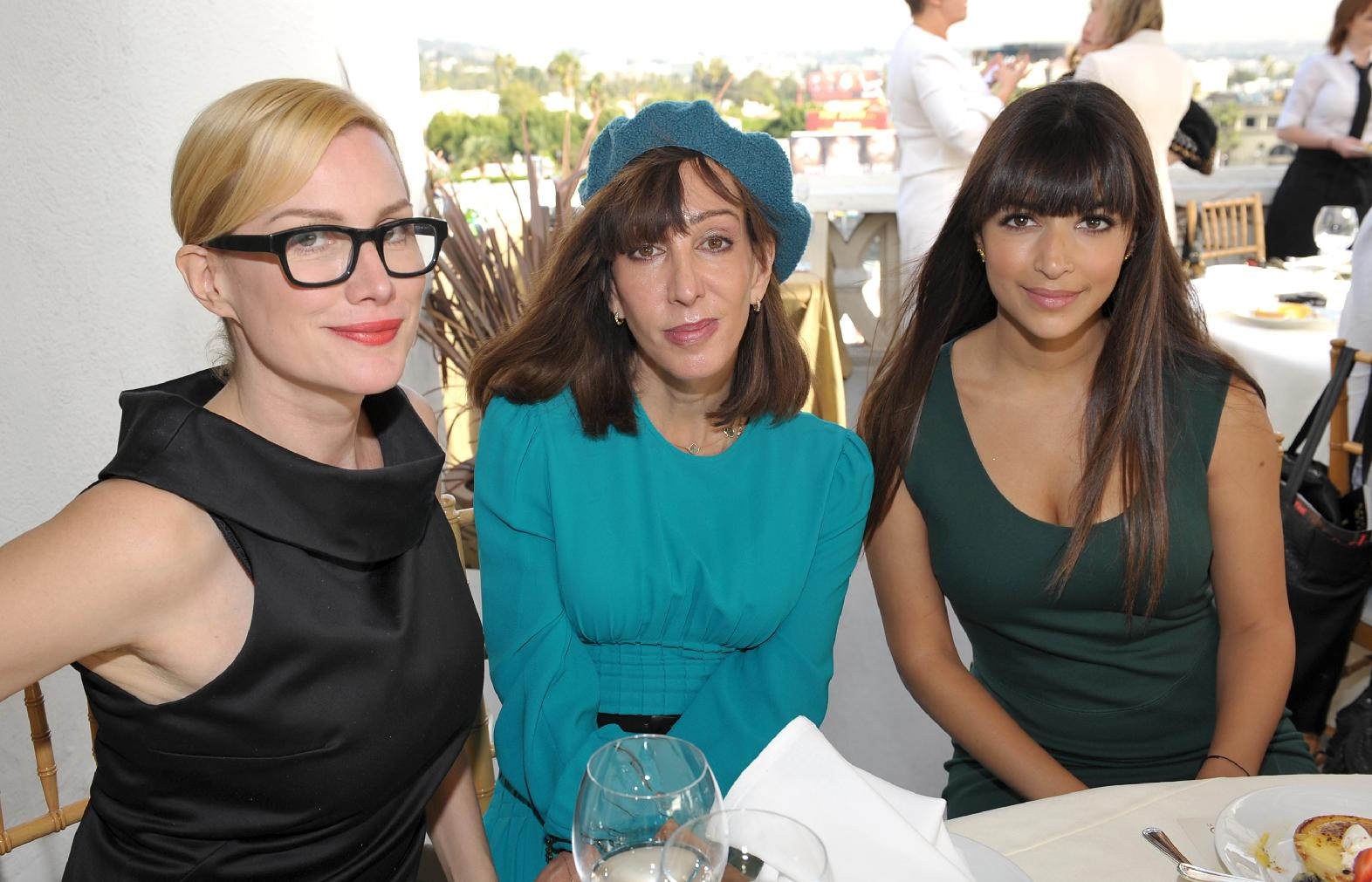 Hannah Simone The Hollywood Reporters Beauty Luncheon in Los Angeles