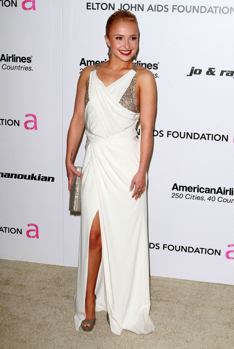 Hayden Panettiere Elton John Academy Awards Party