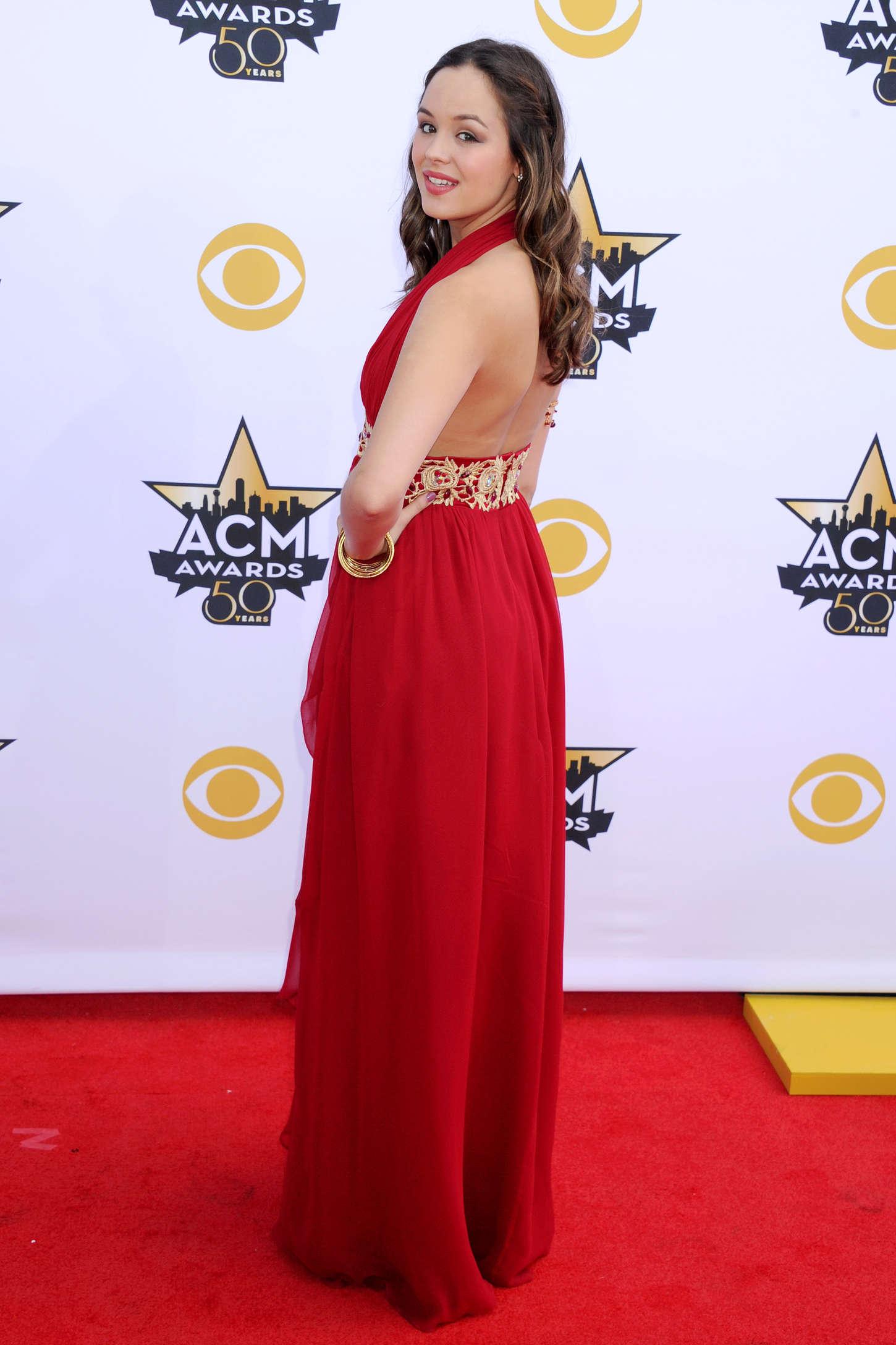 Hayley Orrantia Academy Of Country Music Awards in Arlington