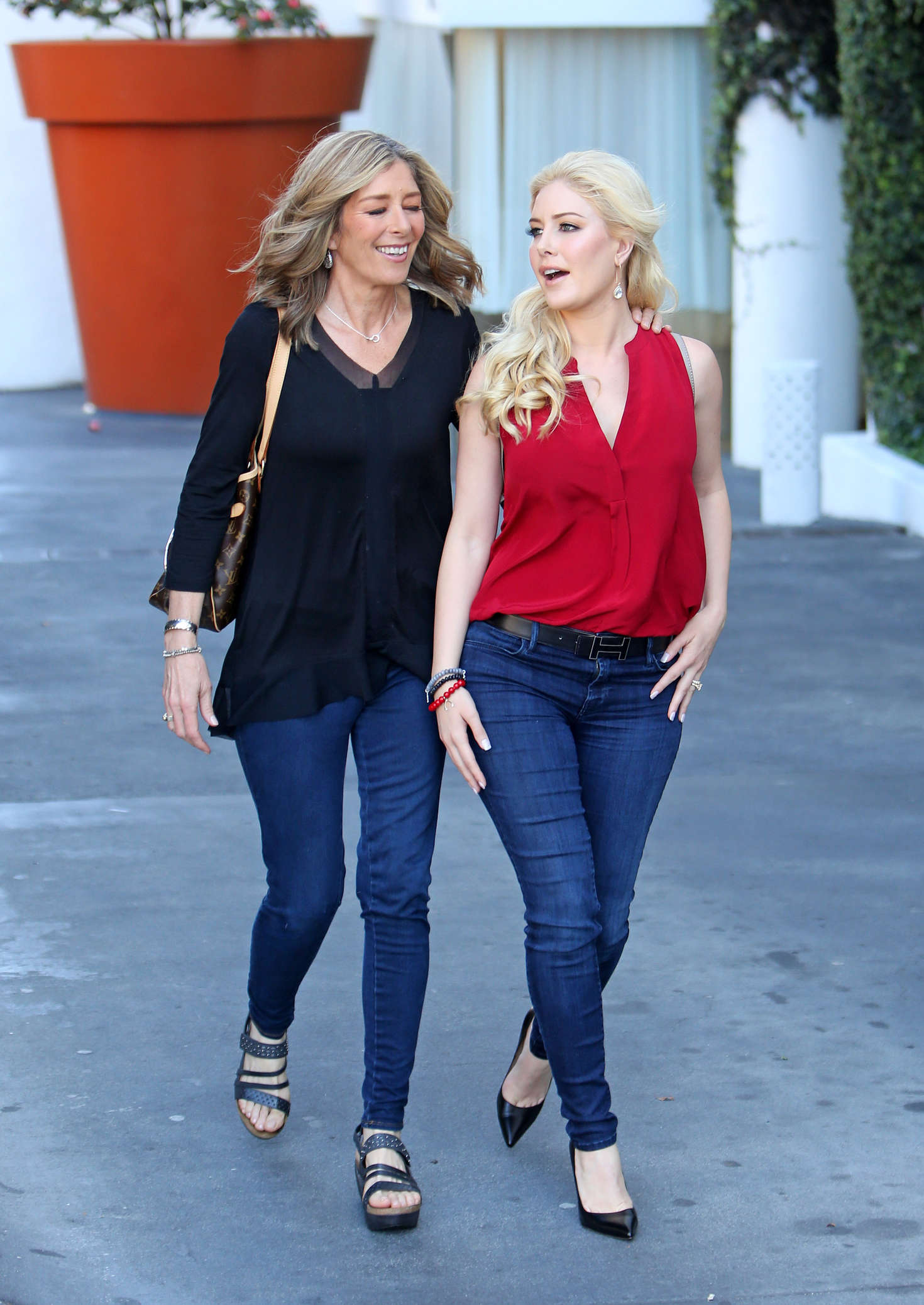 Heidi Montag Leave the Montage Hotel in Hollywood