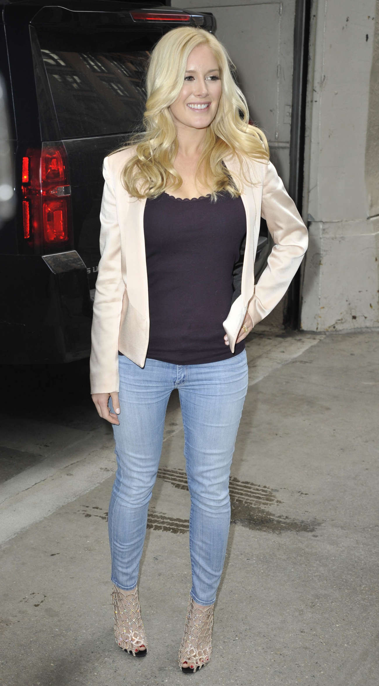 Heidi Montag Visits The Today Show in New York