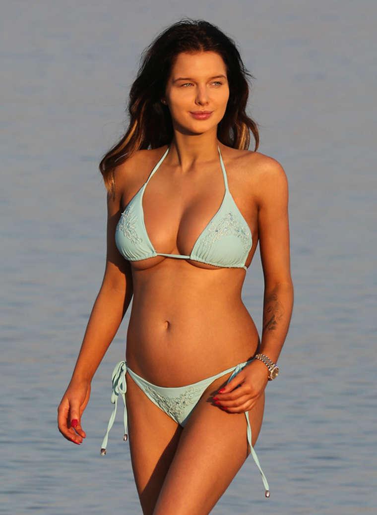 Helen Flanagan Wearing Bikini in Dubai