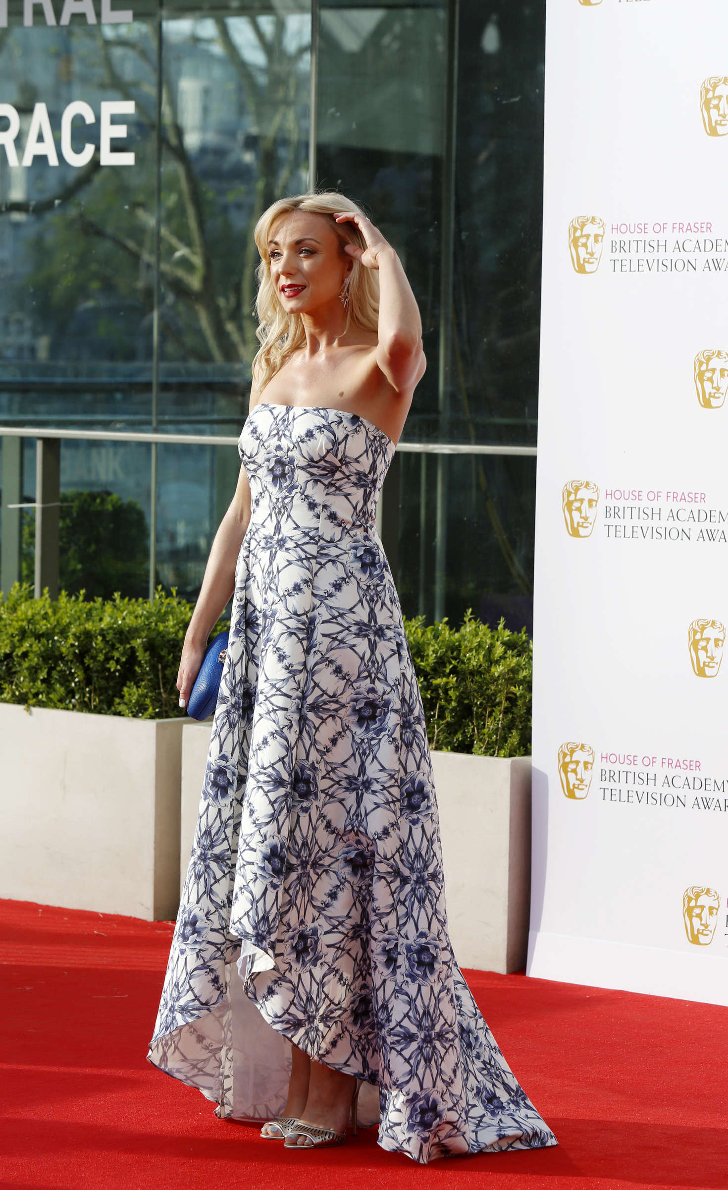 Helen George BAFTA TV Awards in London