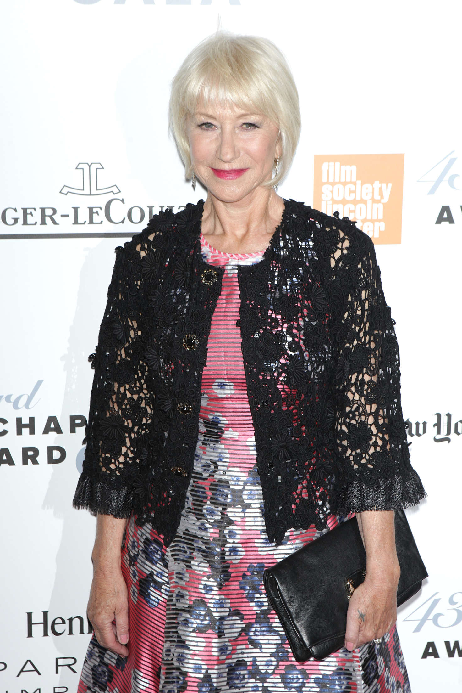 Helen Mirren Annual Chaplin Award Gala in New York