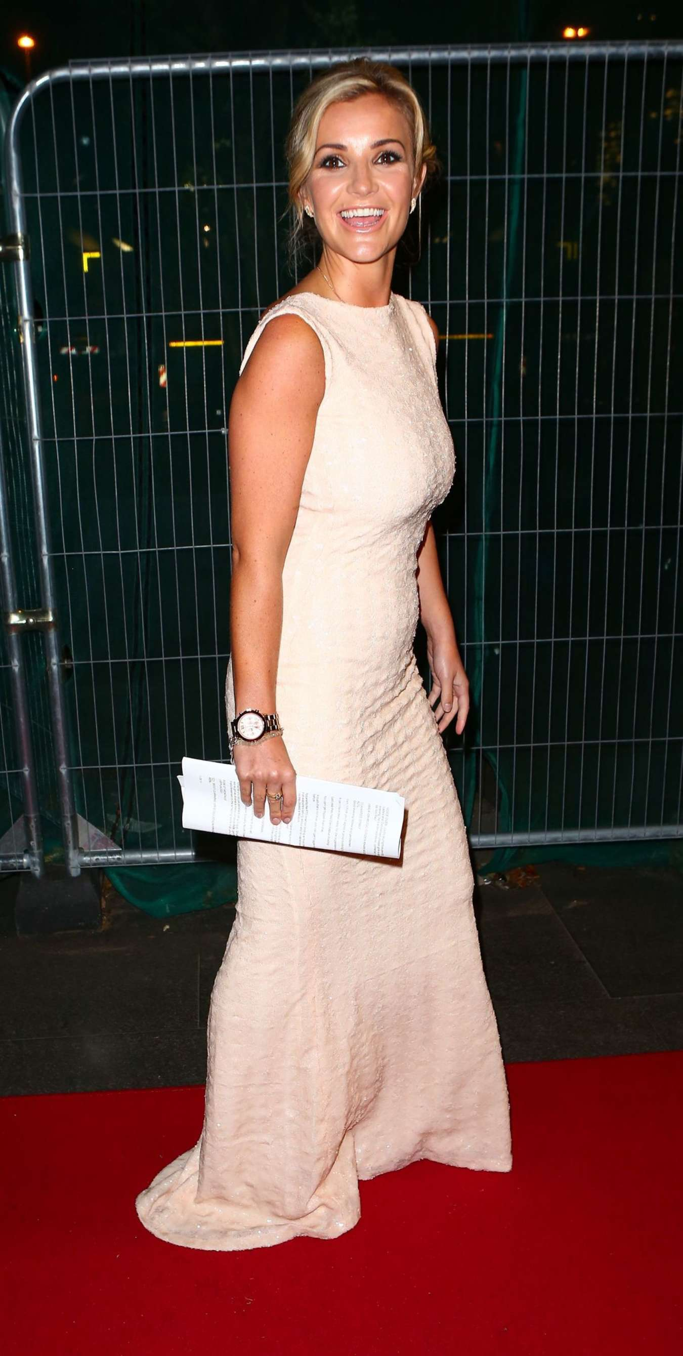 Helen Skelton RTS Awards in Manchester