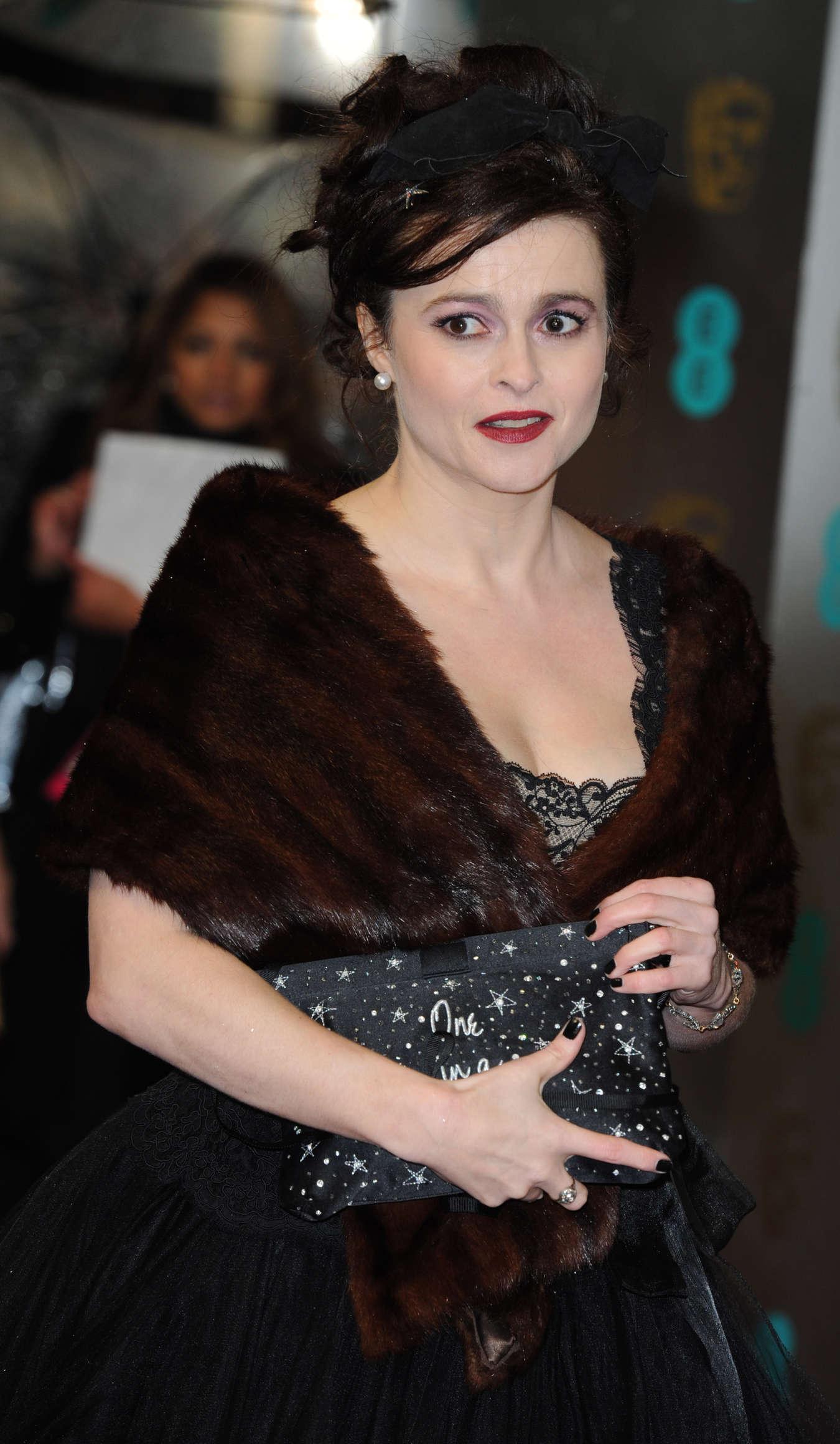 Helena Bonham Carter BAFTA Awards in London