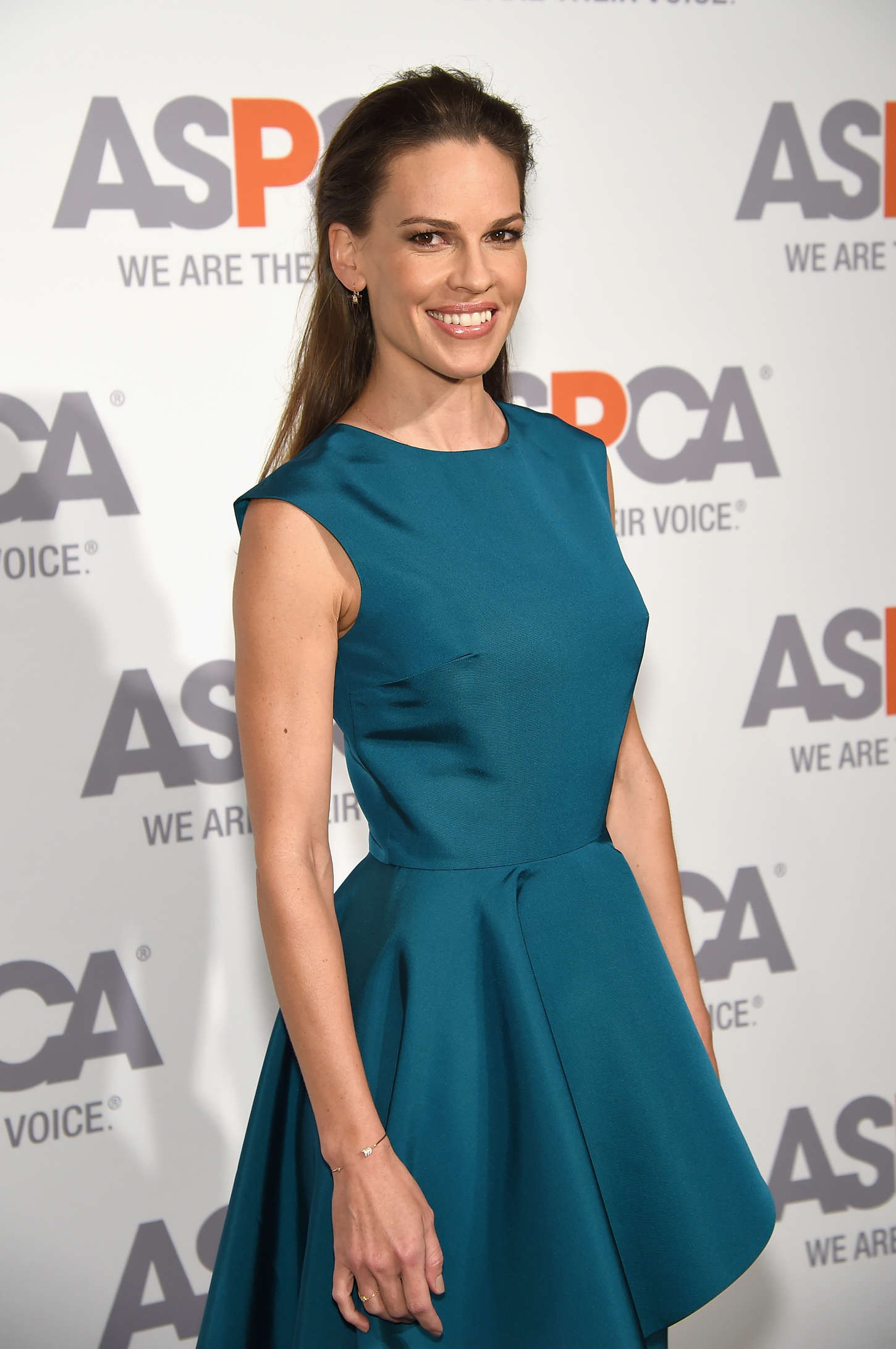 Hilary Swank ASPCAS Annual Bergh Ball in New York