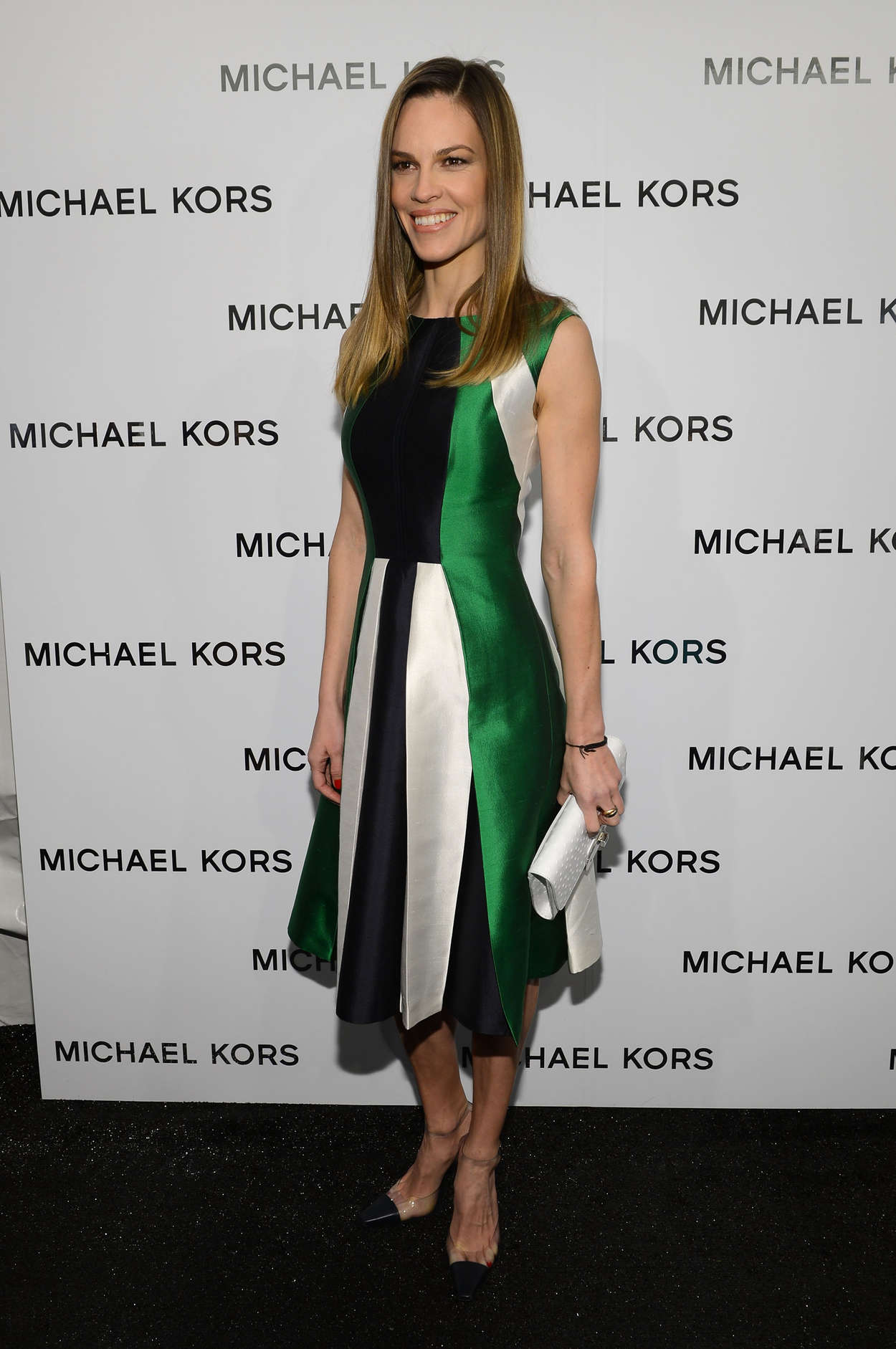 Hilary Swank Michael Kors Fall fashion show in New York