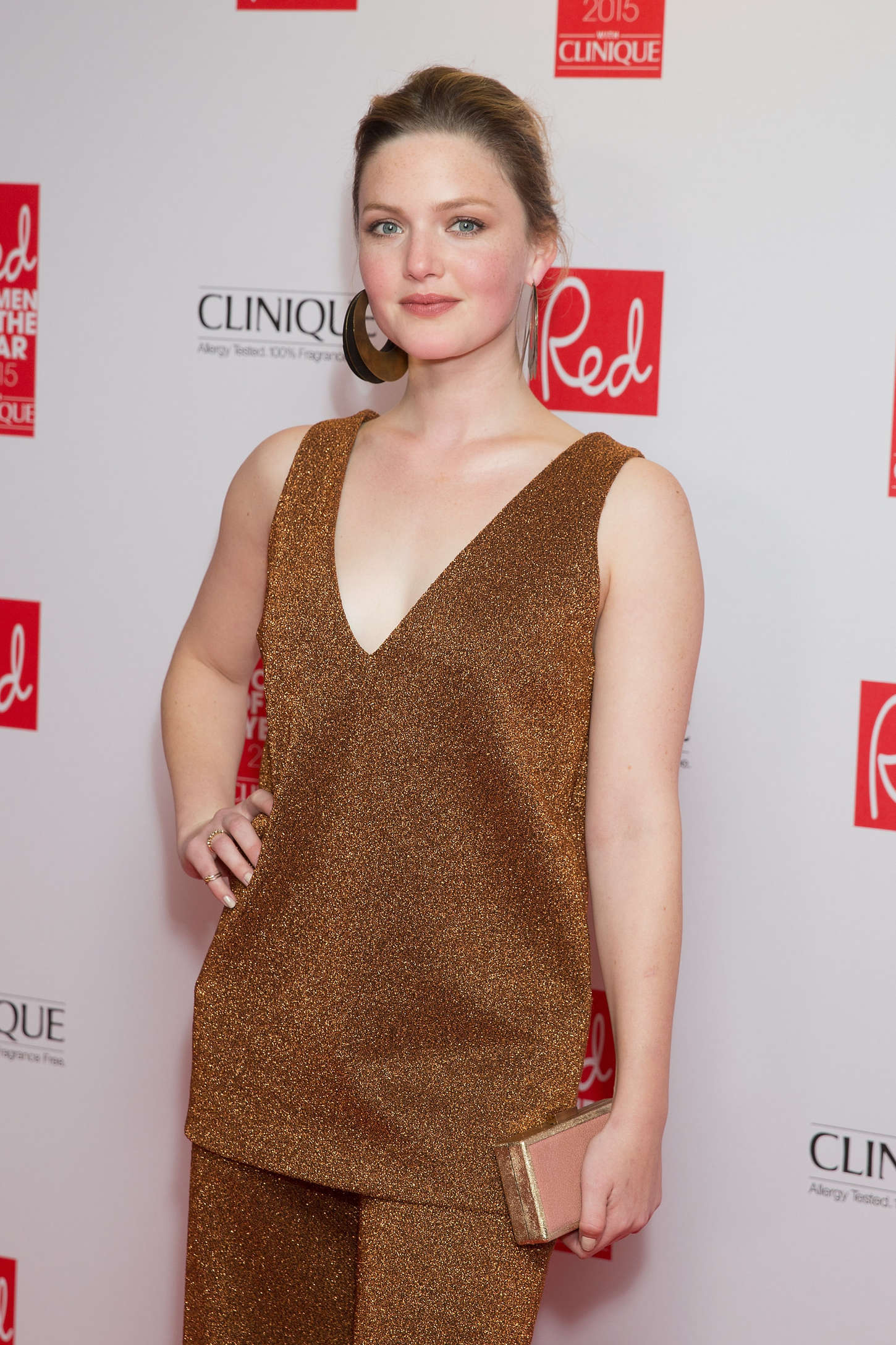 Holliday Grainger Red Women Of The Year Awards in London