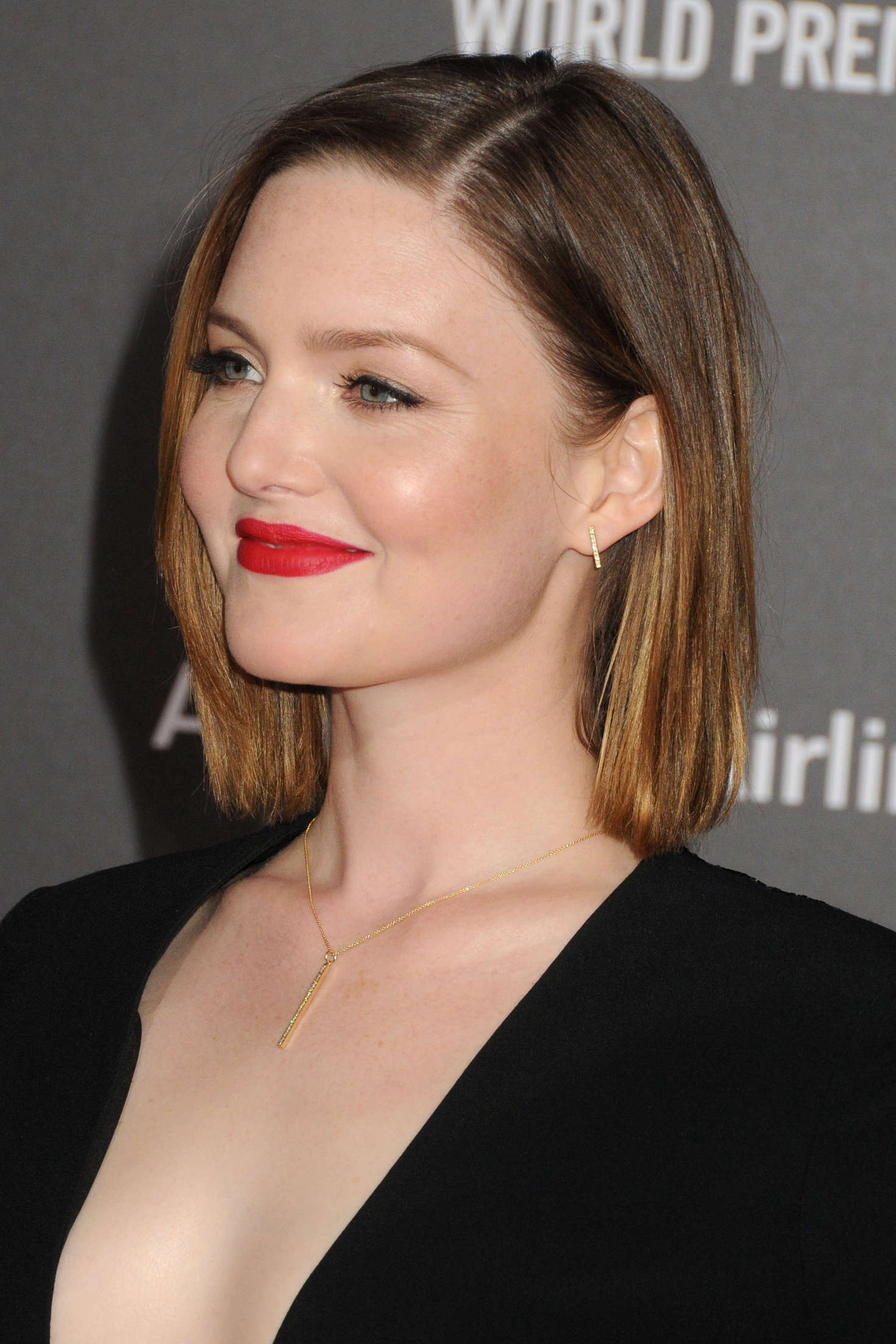 Holliday Grainger The Finest Hours Premiere in Los Angeles