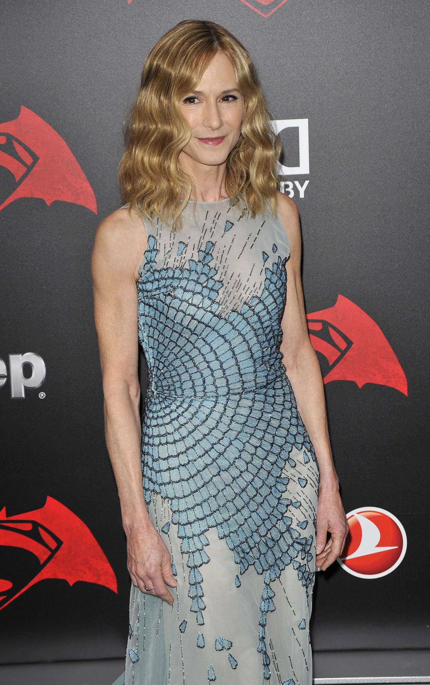 Holly Hunter Batman V Superman Dawn Of Justice Premiere in New York City
