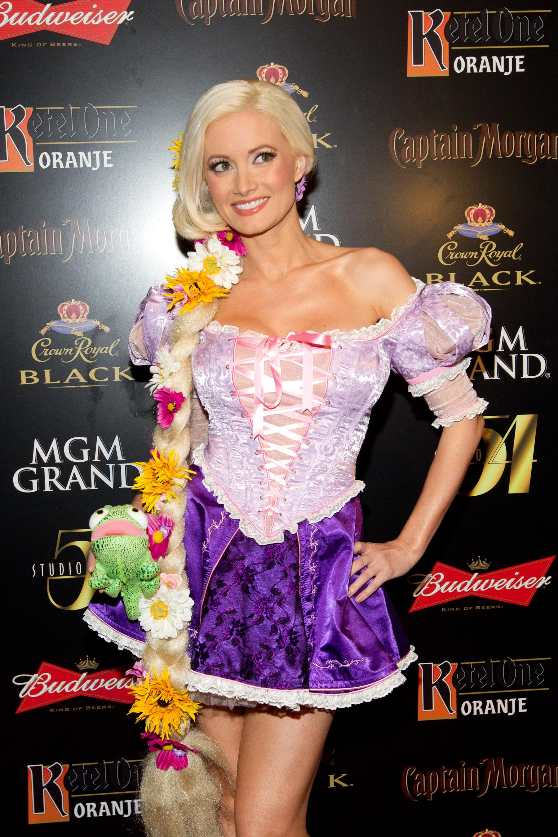 Holly Madison Halloween party at Studio in Las Vegas