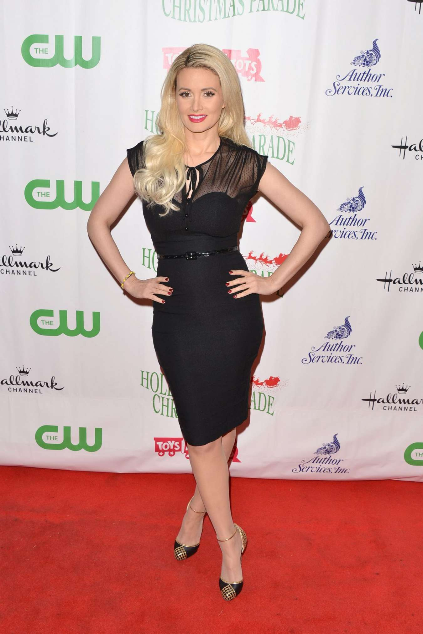 Holly Madison Hollywood Christmas Parade in Hollywood