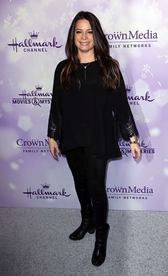 Holly Marie Combs Hallmark Channel Party at the Winter TCA Tour in Pasadena