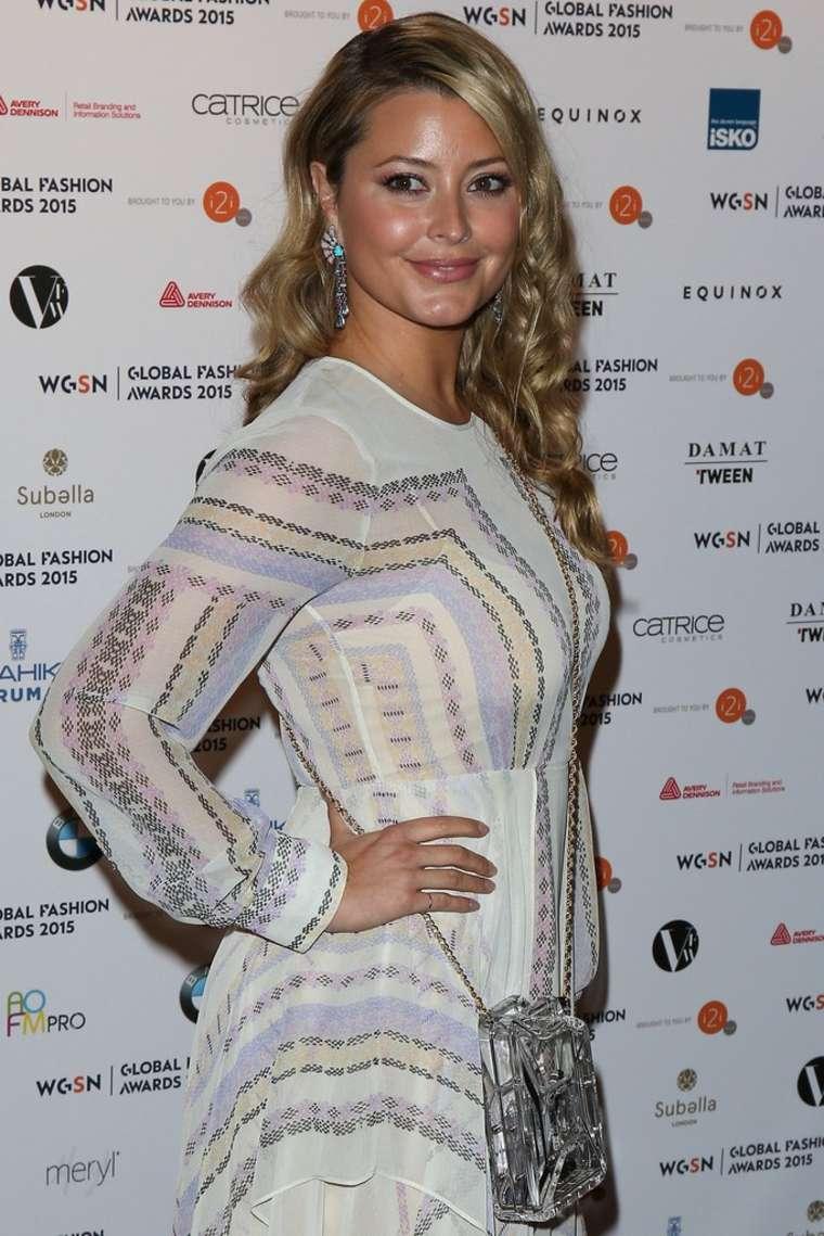 Holly Valance Global Fashion Awards in London