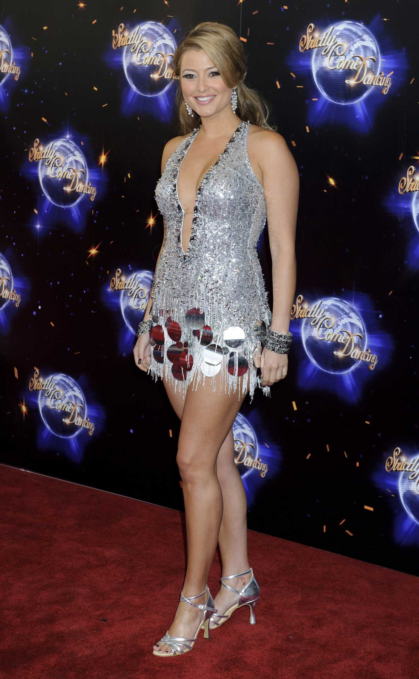 Holly Valance Strictly Come Dancing press launch in London