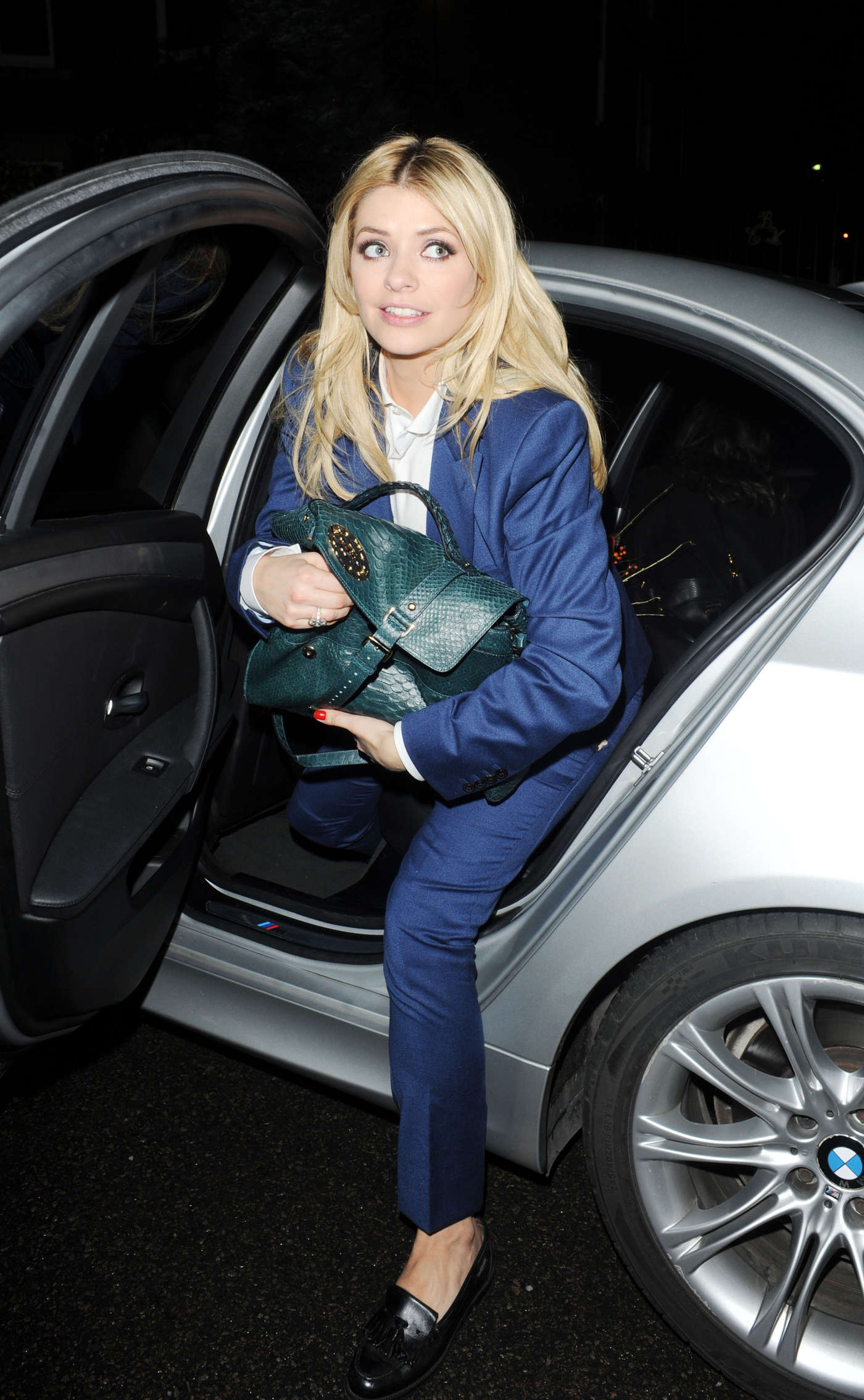 Holly Willoughby go out in London