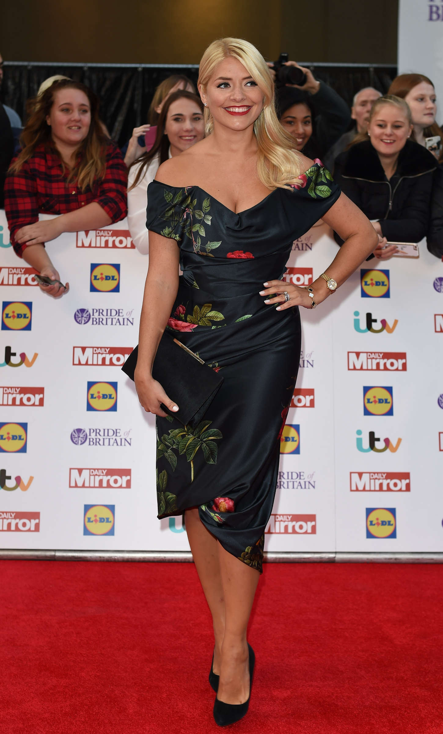 Holly Willoughby Pride of Britain Awards in London