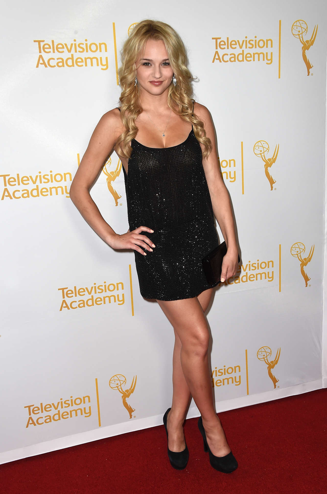 Hunter Haley King Annual Daytime Emmy Nominees Celebration in West Hollywood