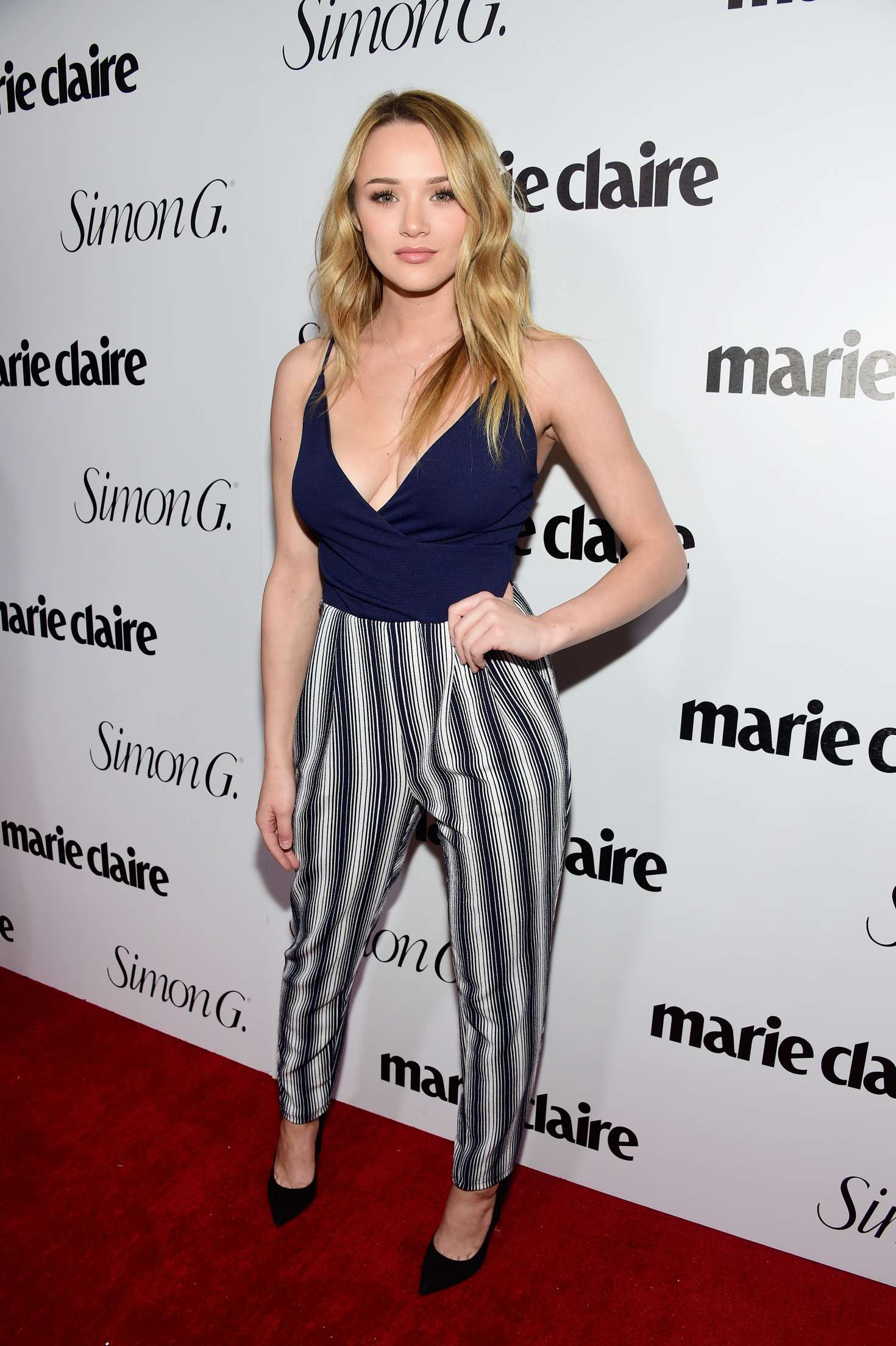 Hunter Haley King Marie Claire Hosts Fresh Faces Party Celebrating May Issue Cover Stars in Los Angeles