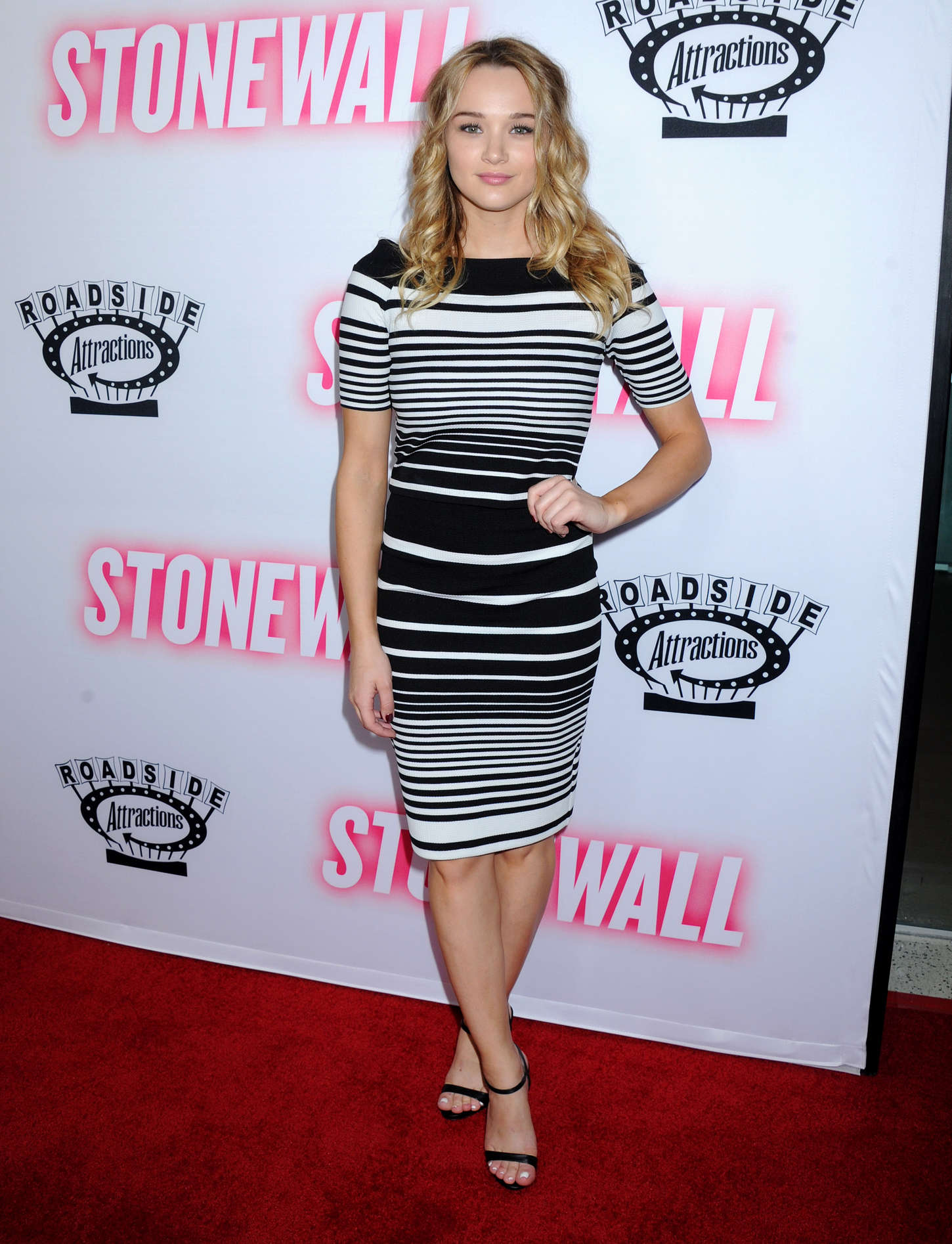 Hunter Haley King Stonewall Premiere in West Hollywood
