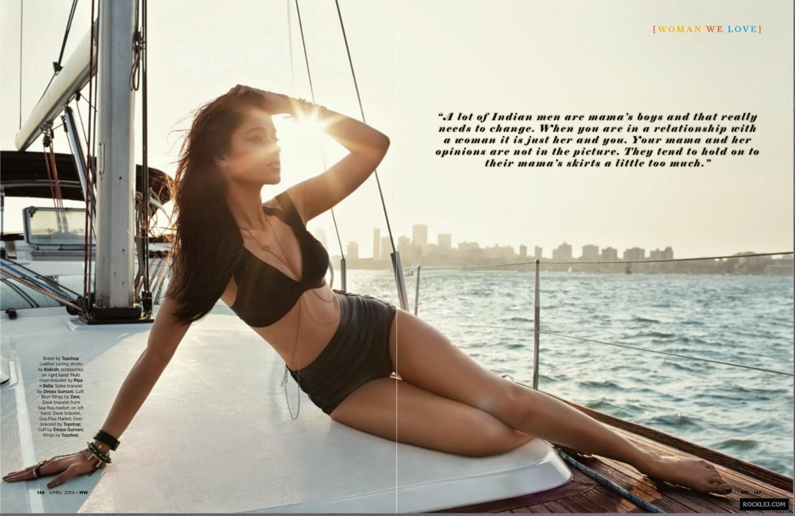 Ileana Dcruz MW Magazine