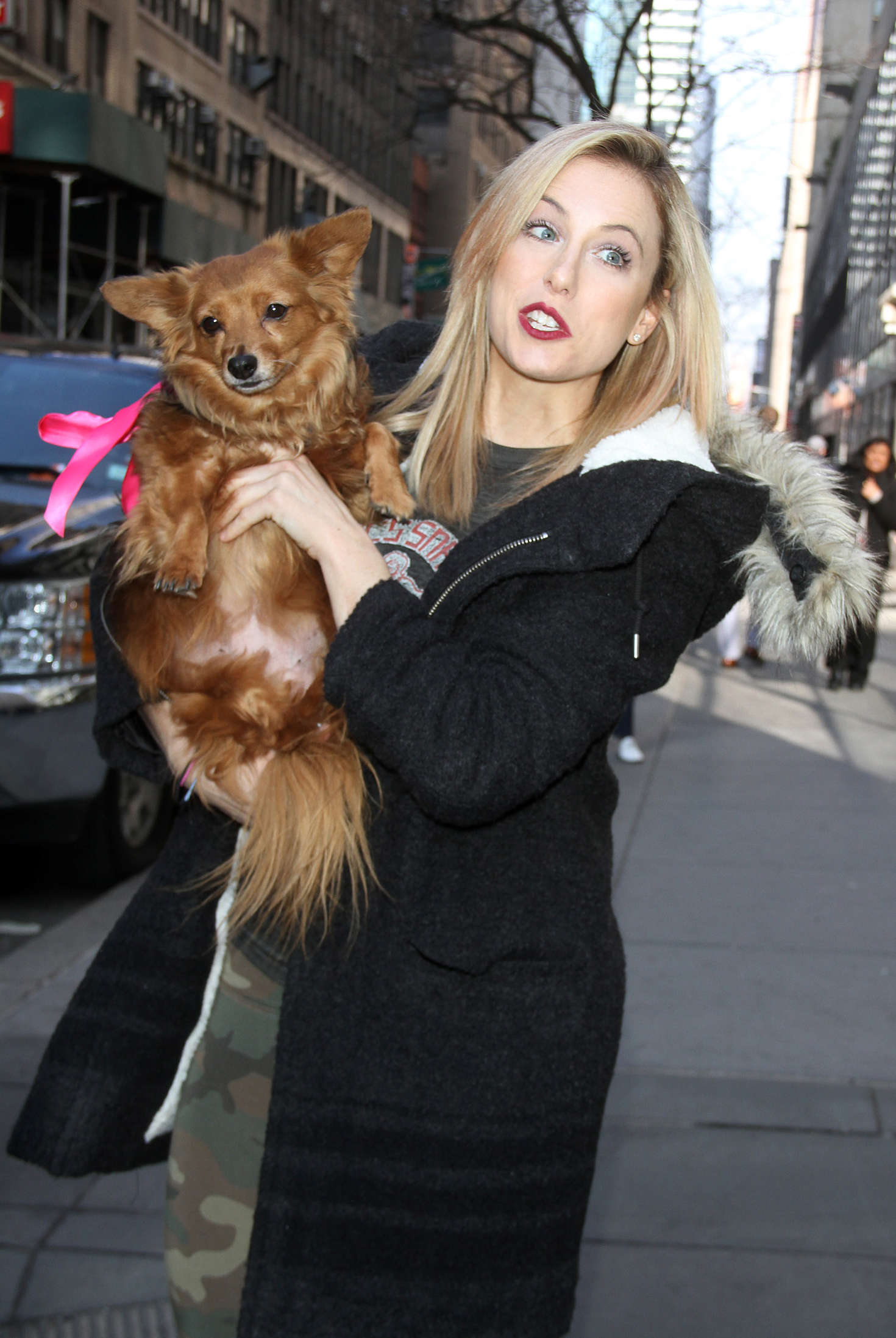 Iliza Shlesinger Heads to Today Show in New York