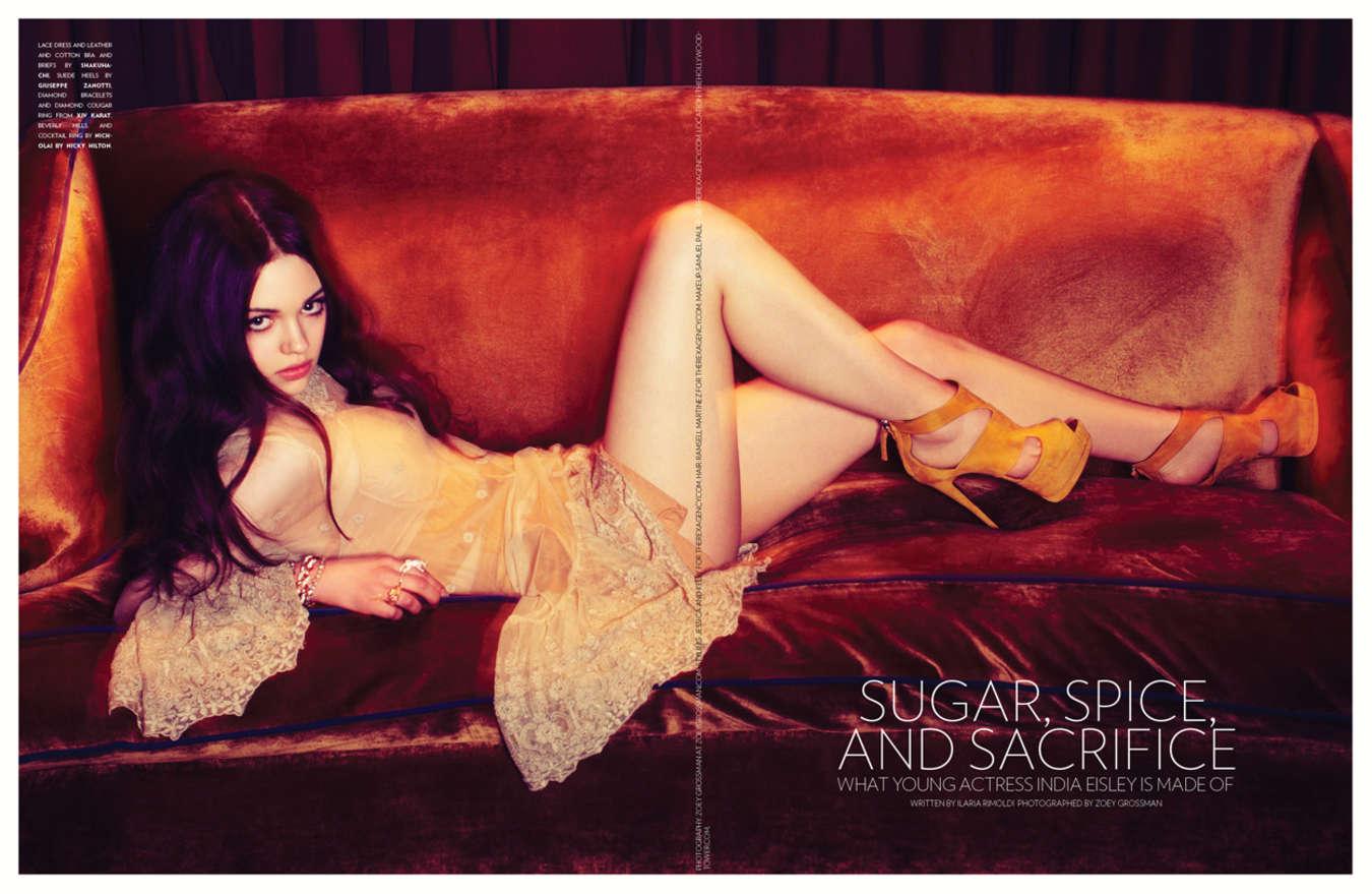 India Eisley Flaunt Magazine
