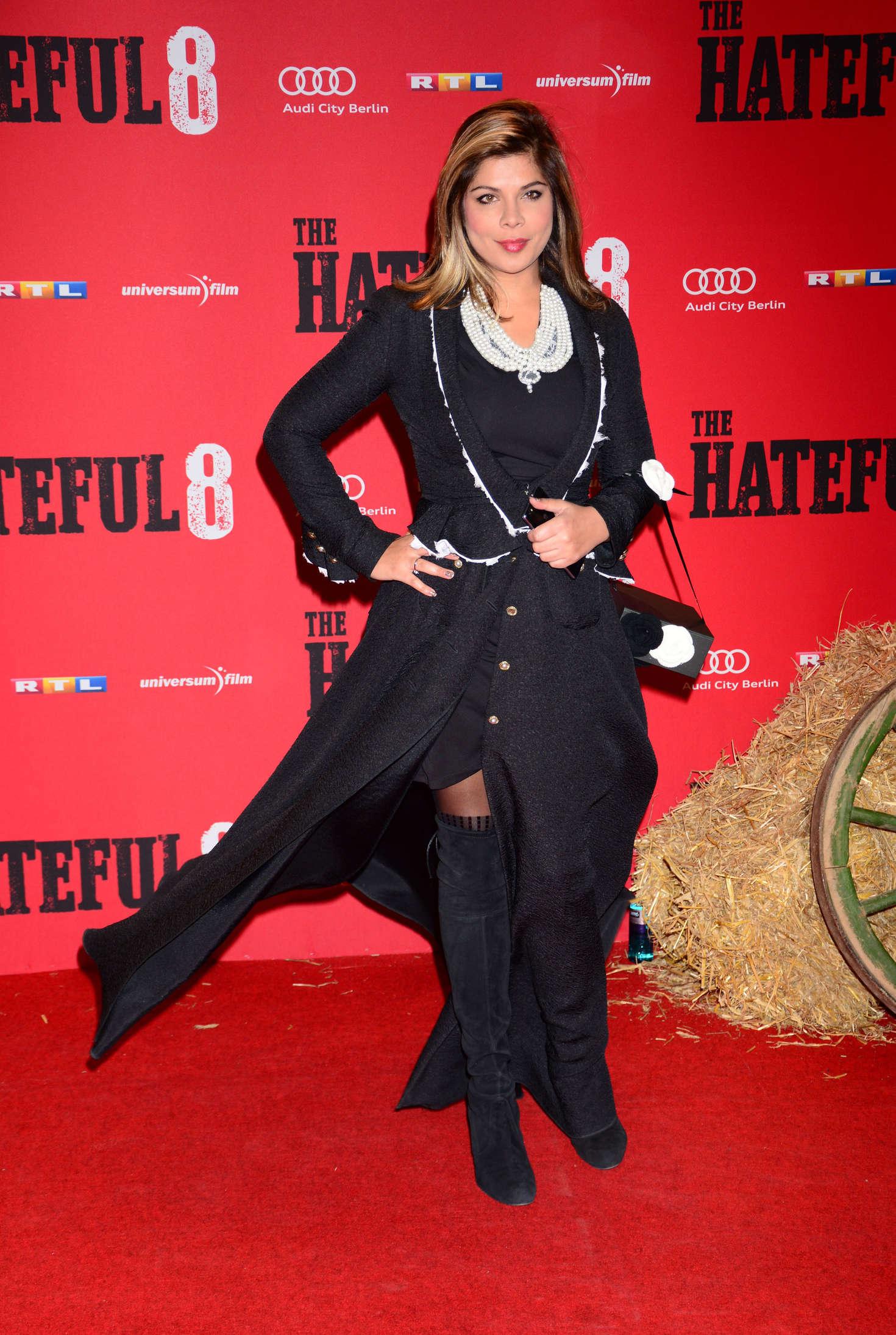 Indira Weis The Hateful Premiere in Berlin
