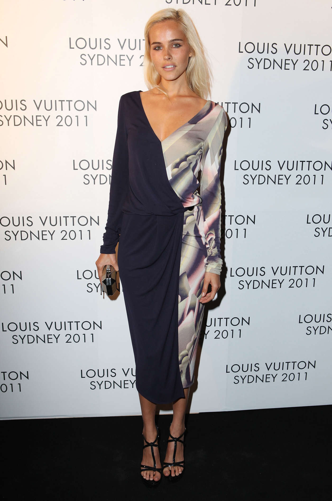 Isabel Lucas Louis Vuitton Maison Opening In Sydney