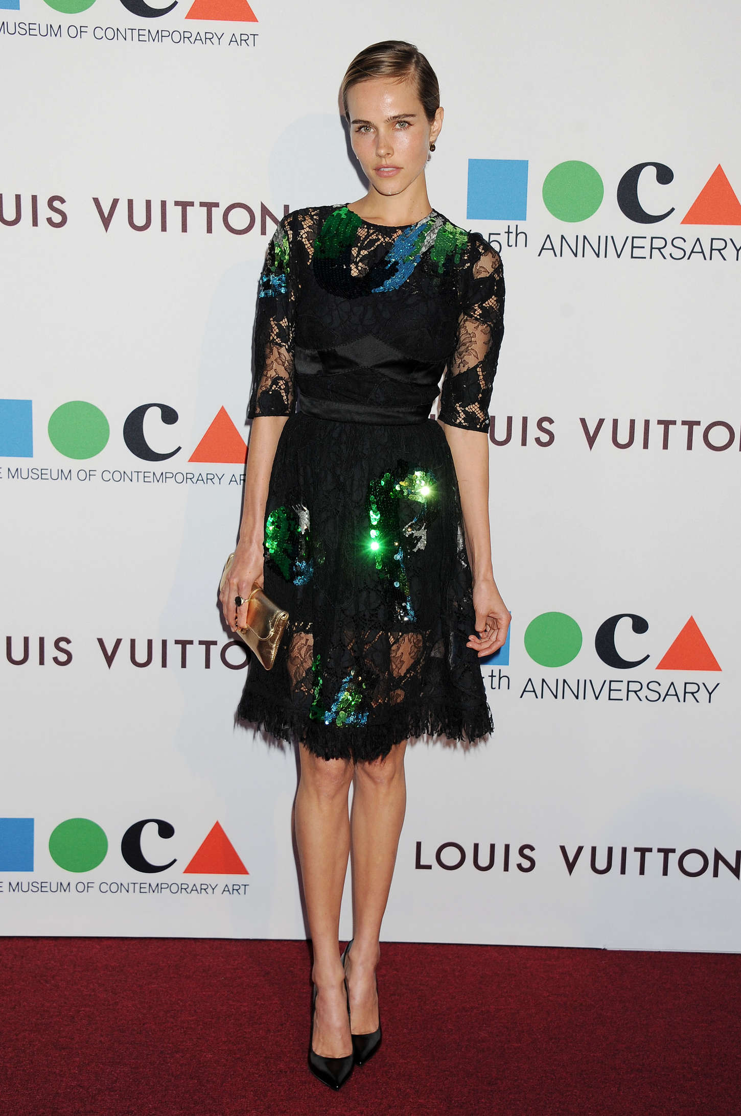 Isabel Lucas MOCA Anniversary Gala in Los Angeles