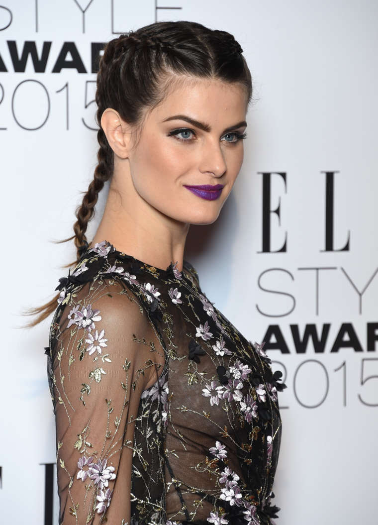 Isabeli Fontana Elle Style Awards in London