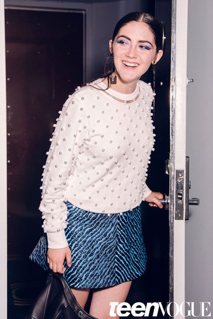 Isabelle Fuhrman Colin Leaman Shoot for Teen Vogue