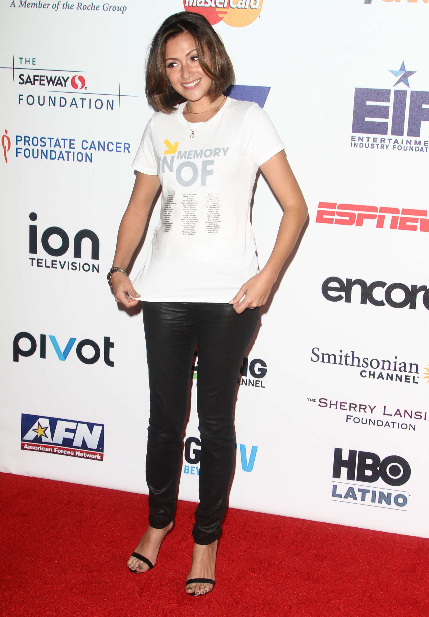 Italia Ricci Annual Stand Up Cancer Live Benefit in Hollywood