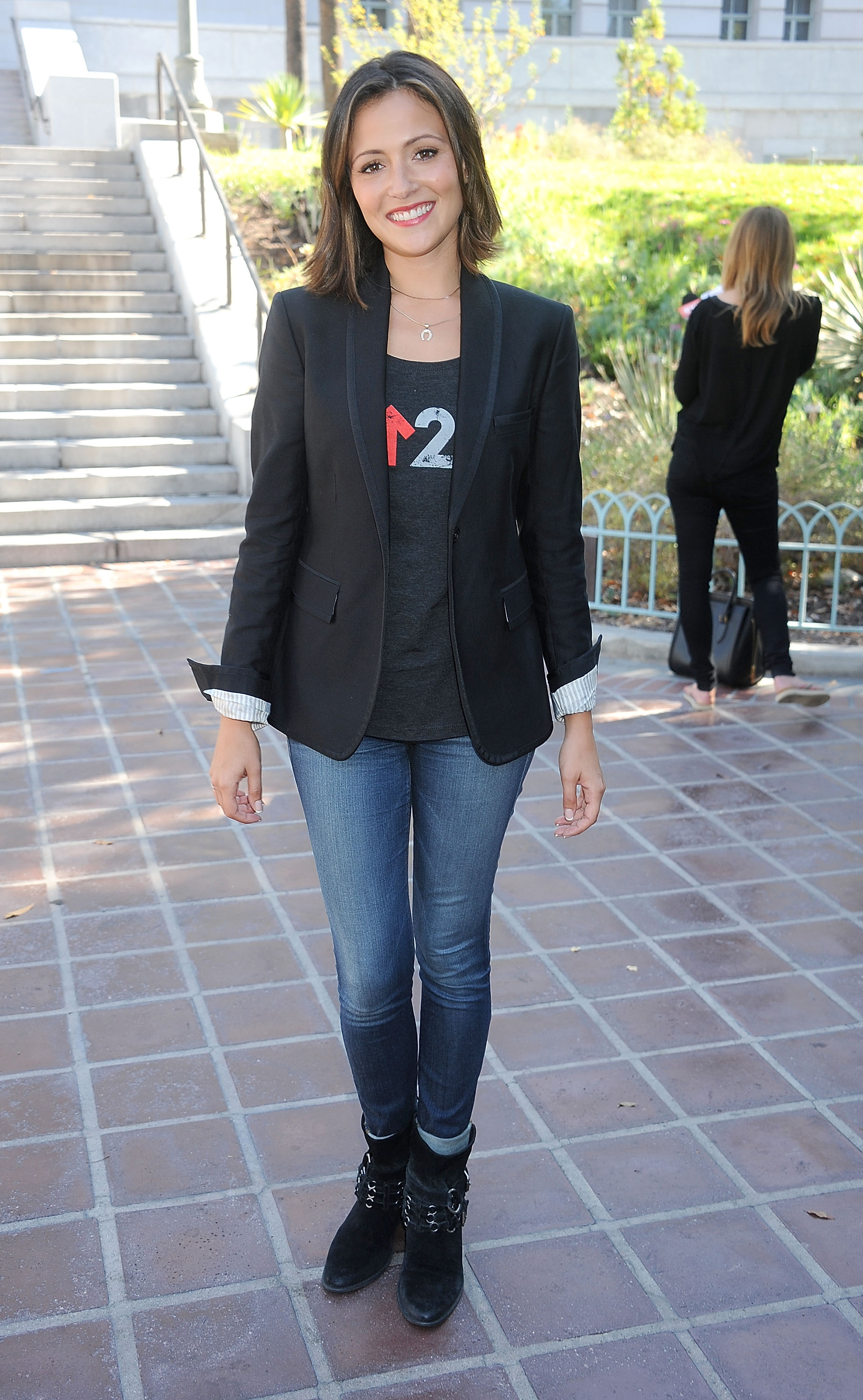 Italia Ricci Stand Up To Cancer Press Conference in Los Angeles