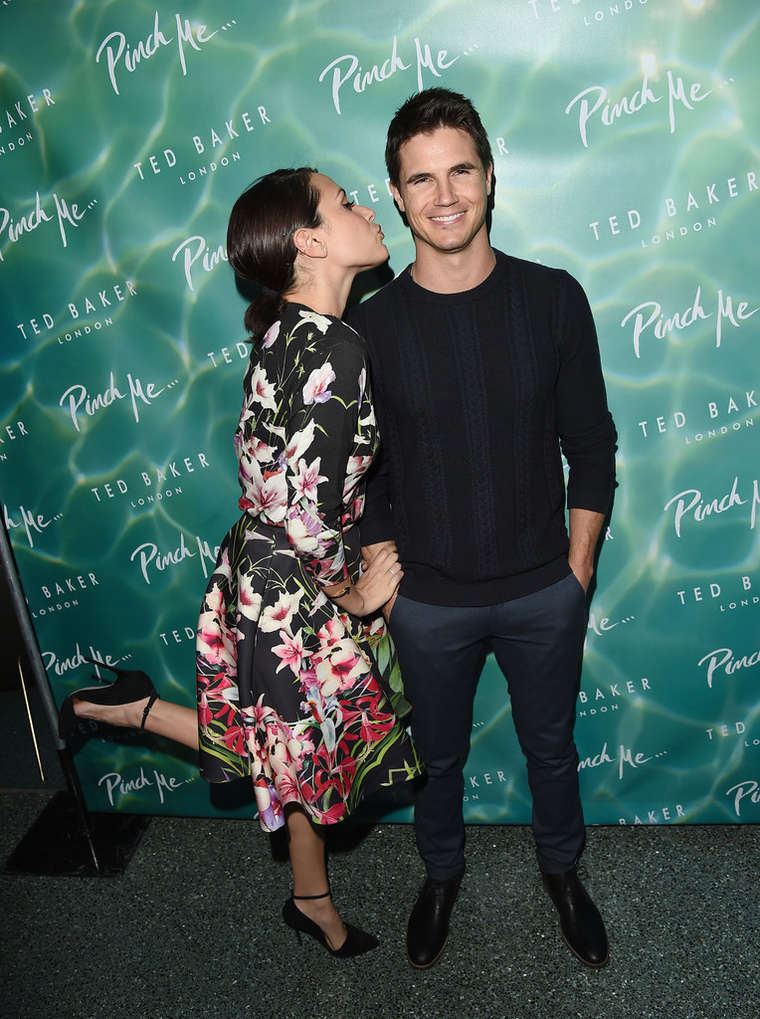 Italia Ricci Ted Baker London SS15 Collection Launch in Beverly Hills