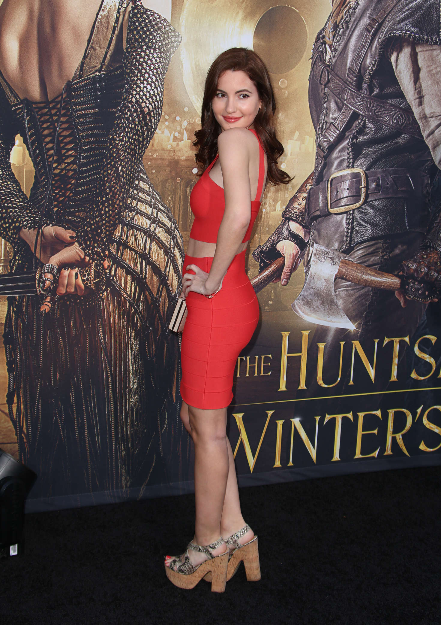Ivana Baquero The Huntsman Winters War Premiere in Westwood