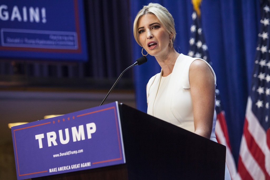 Ivanka Trump Donald Trump announces run for president in New York